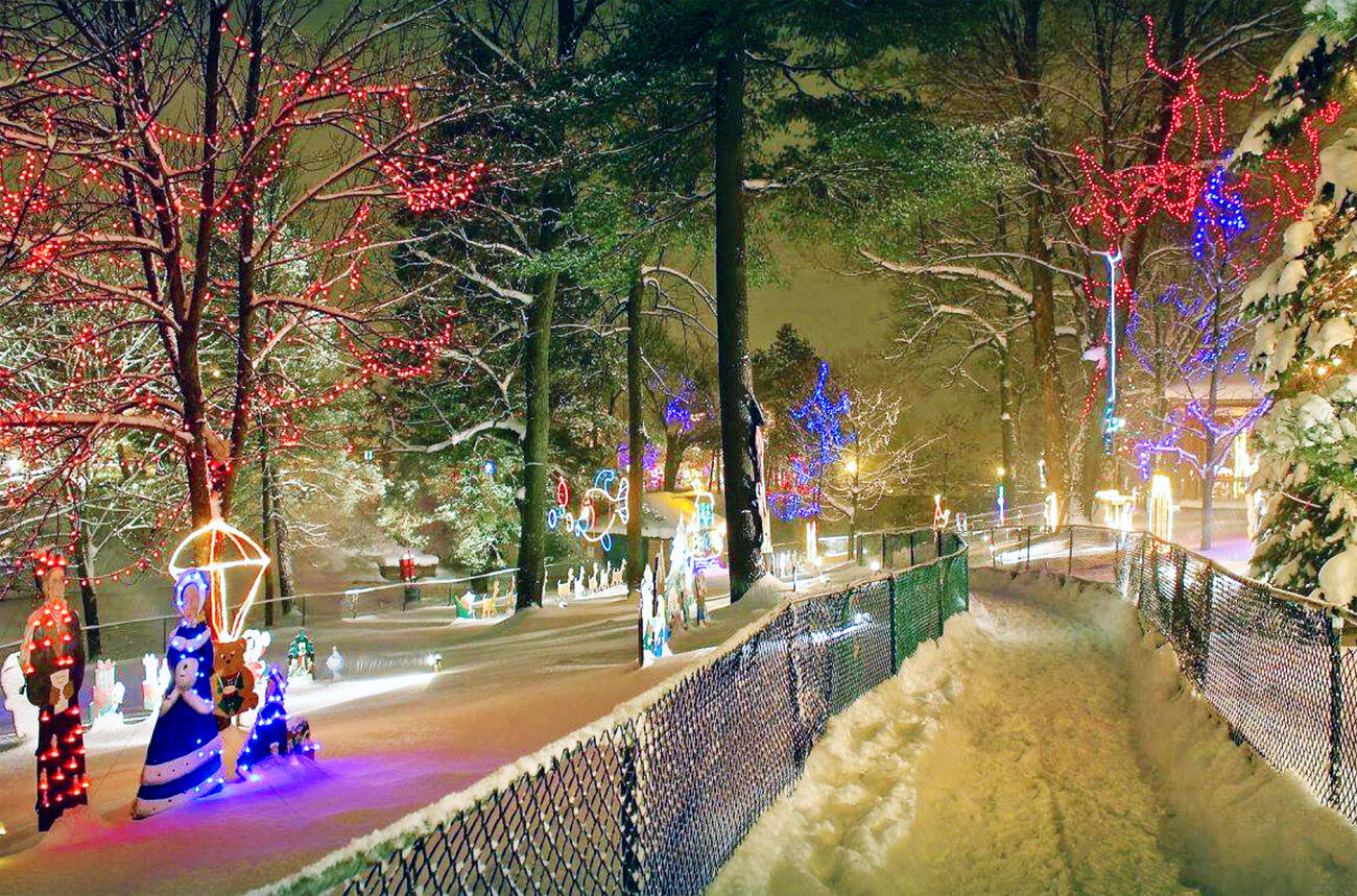 This Town Near Toronto Has An Epic 25km Holiday Lights Display