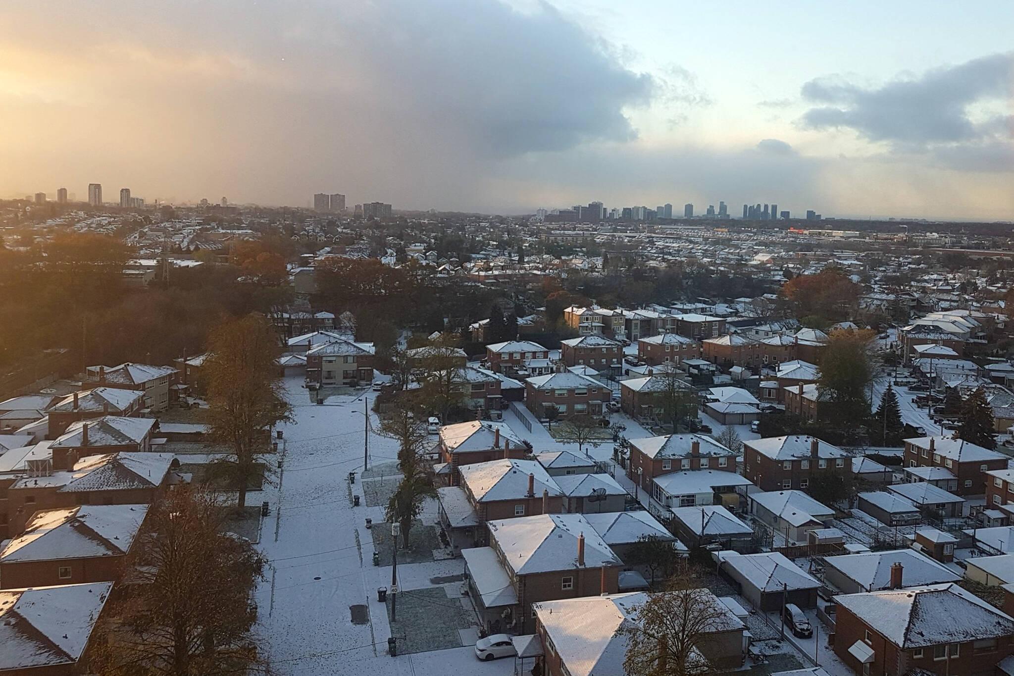 Toronto snow shock