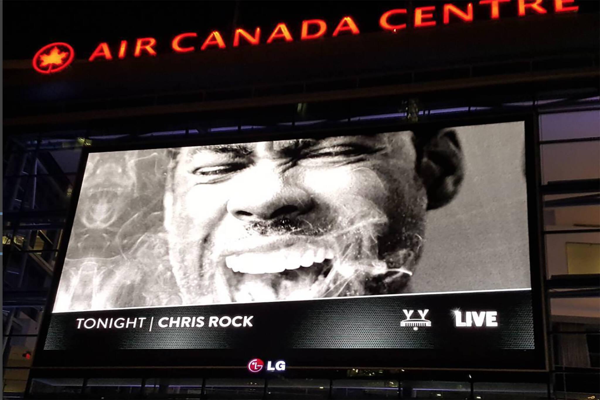 Chris rock toronto