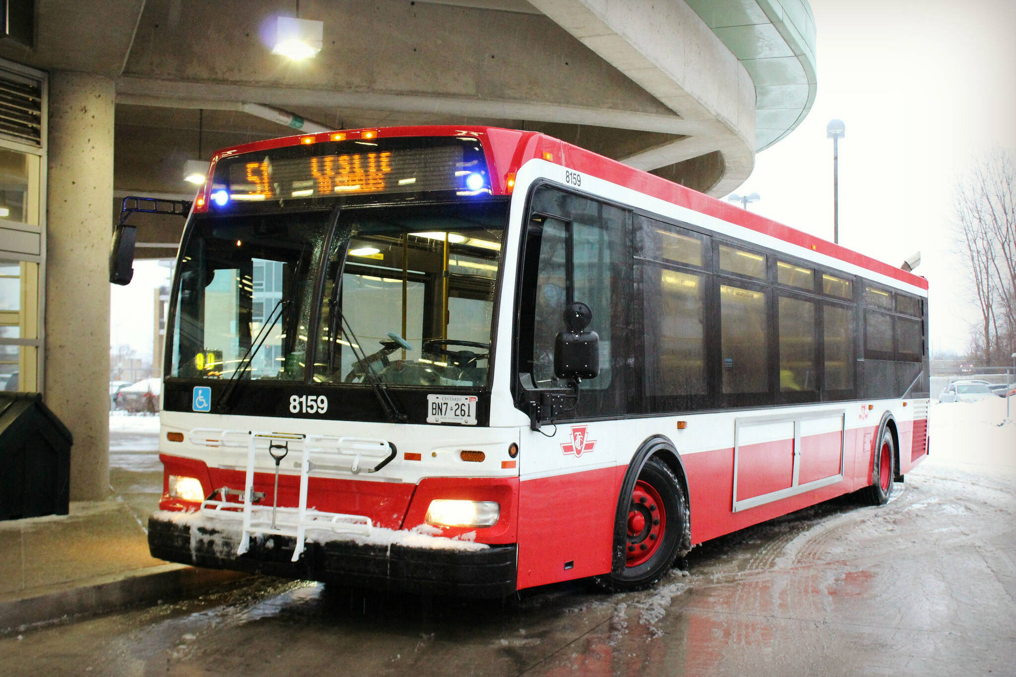 new ttc bus