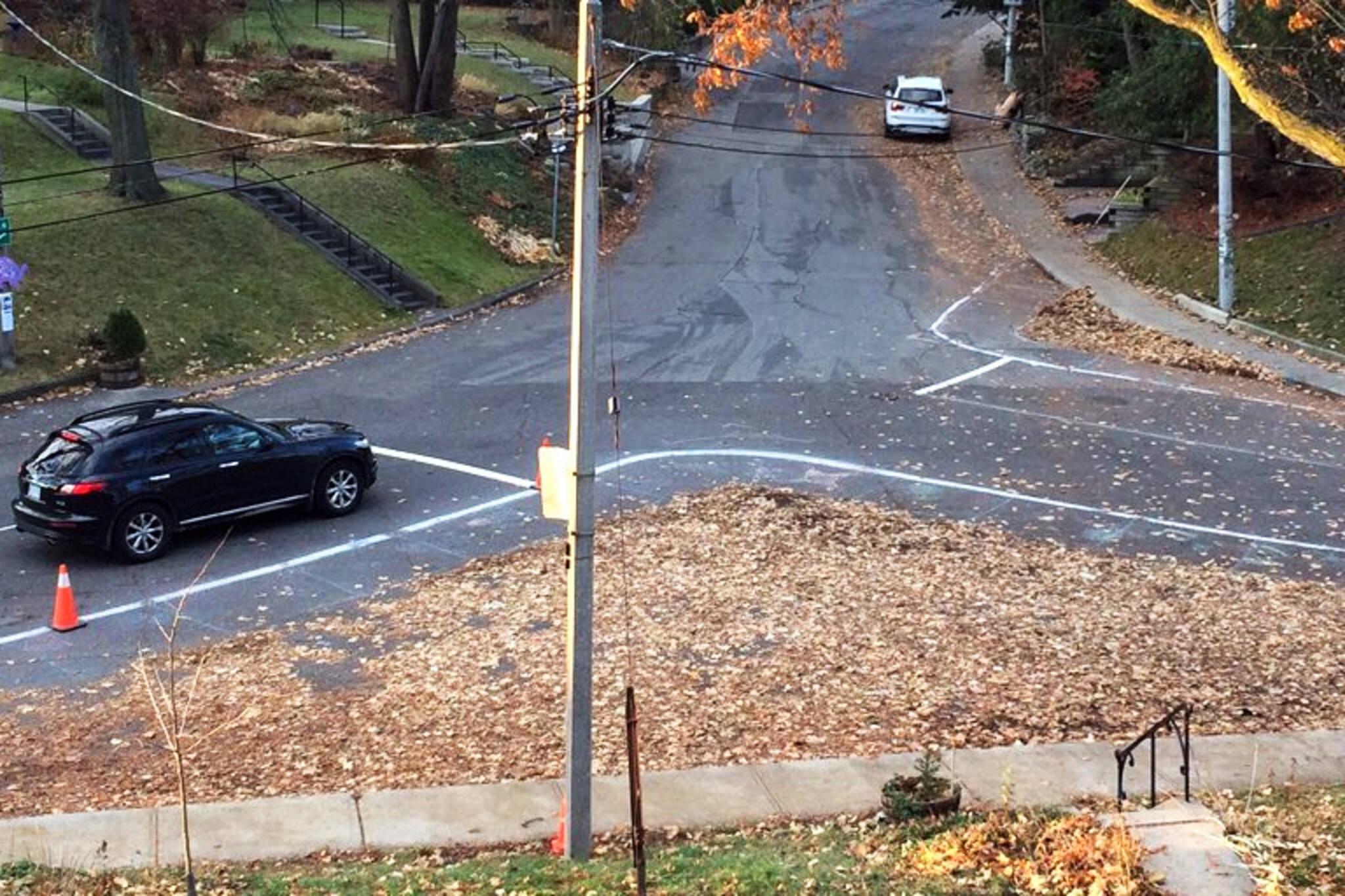 Leaf intersection Toronto