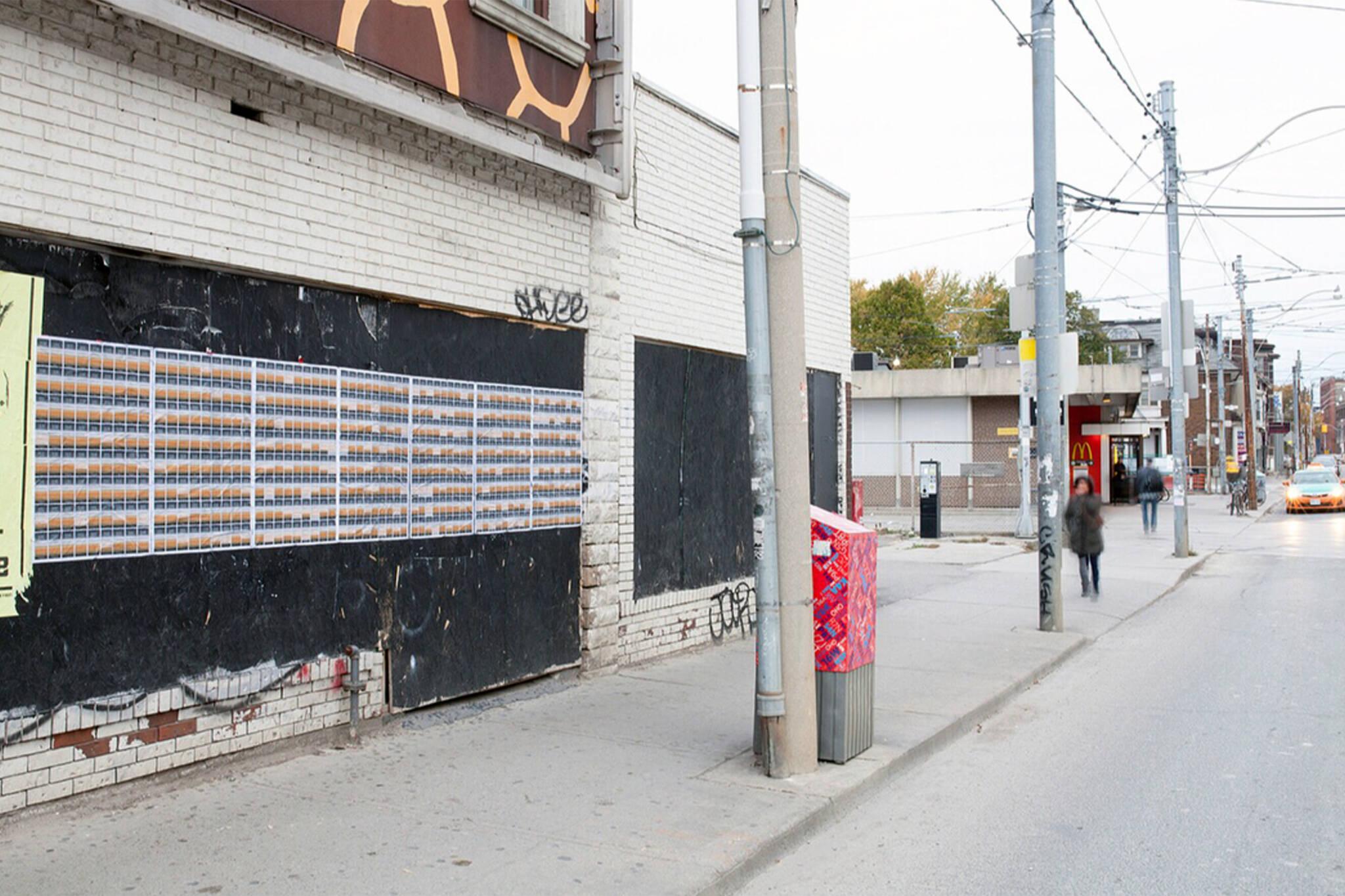 Trump art Toronto