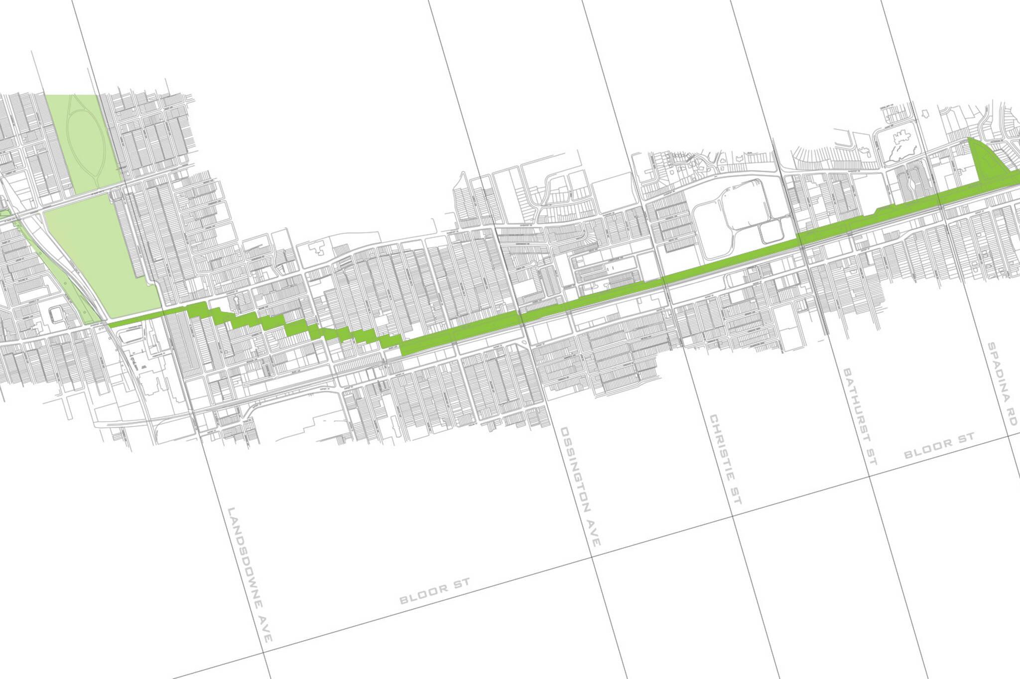green line park toronto
