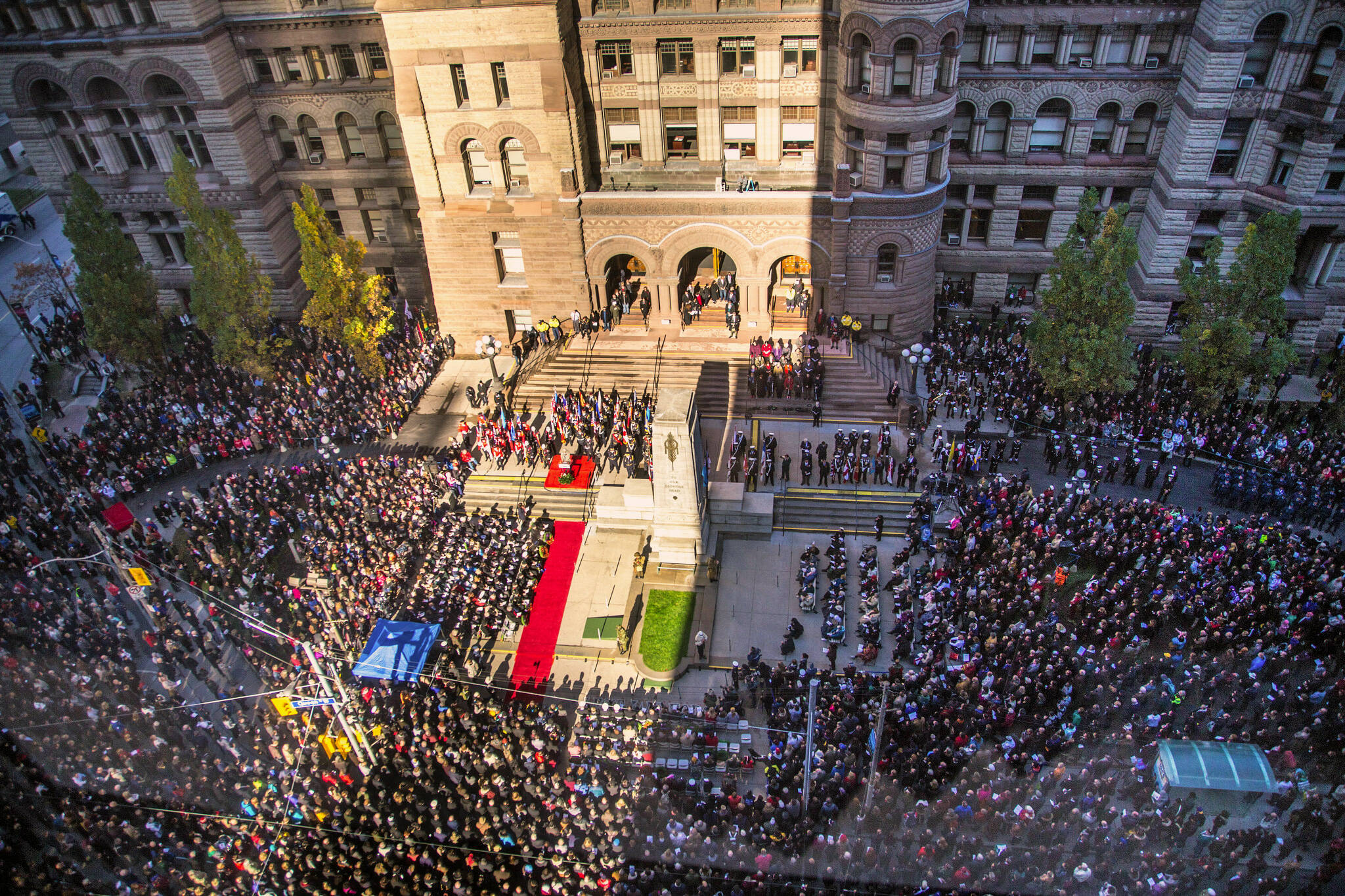 remembrance day toronto 2017