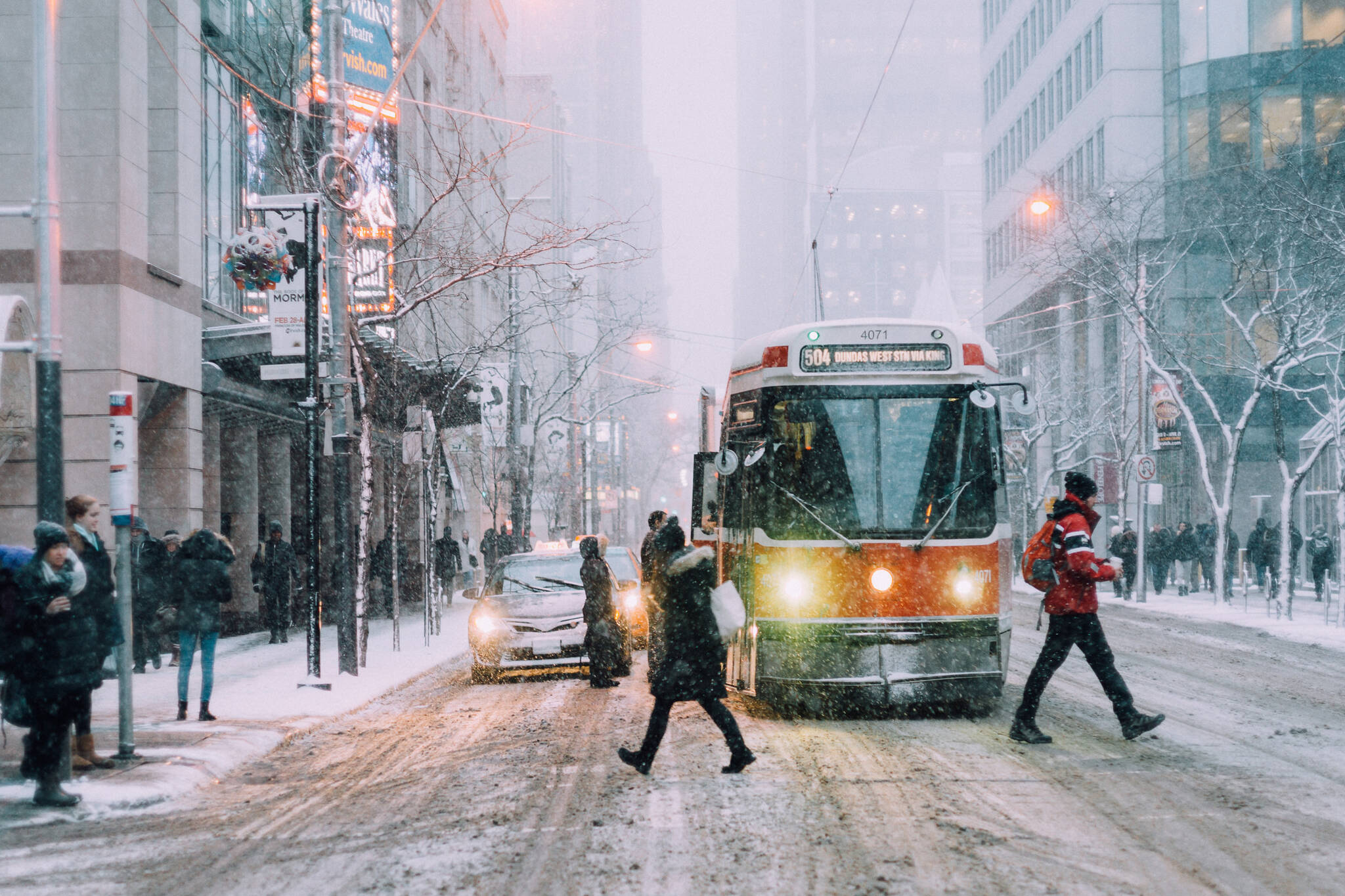 winter weather toronto