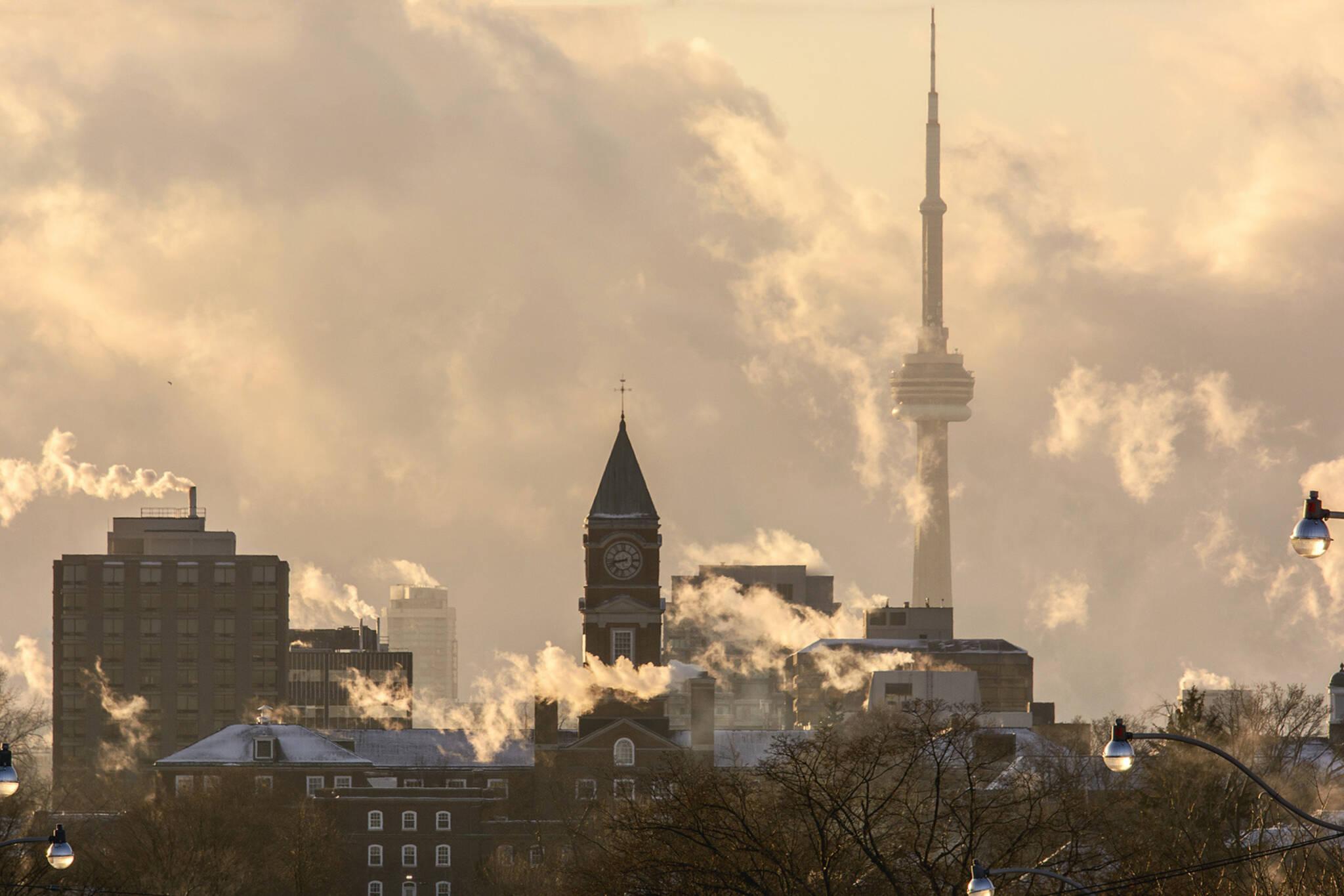 extreme cold alert Toronto