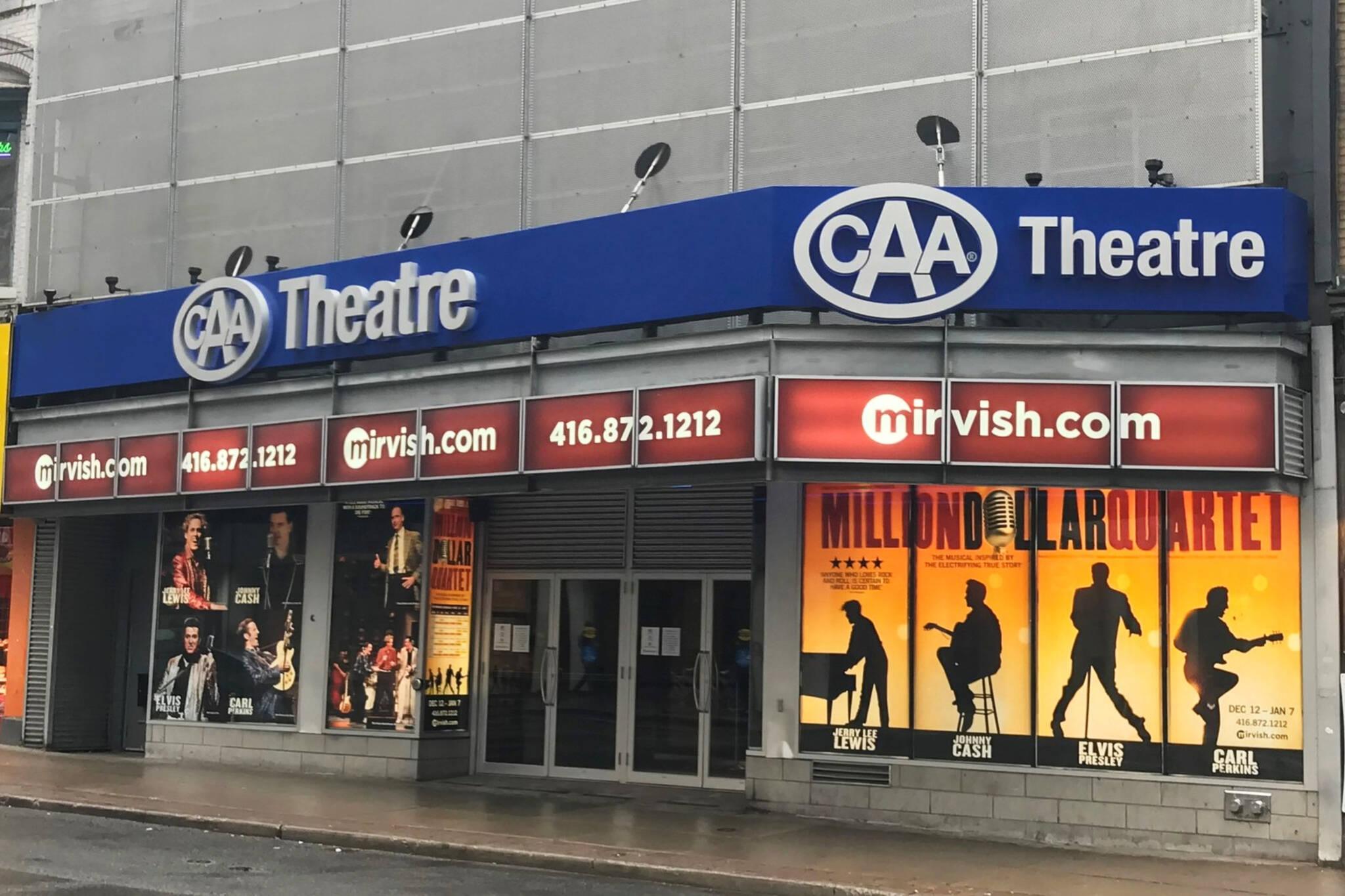 CAA Theatre Toronto