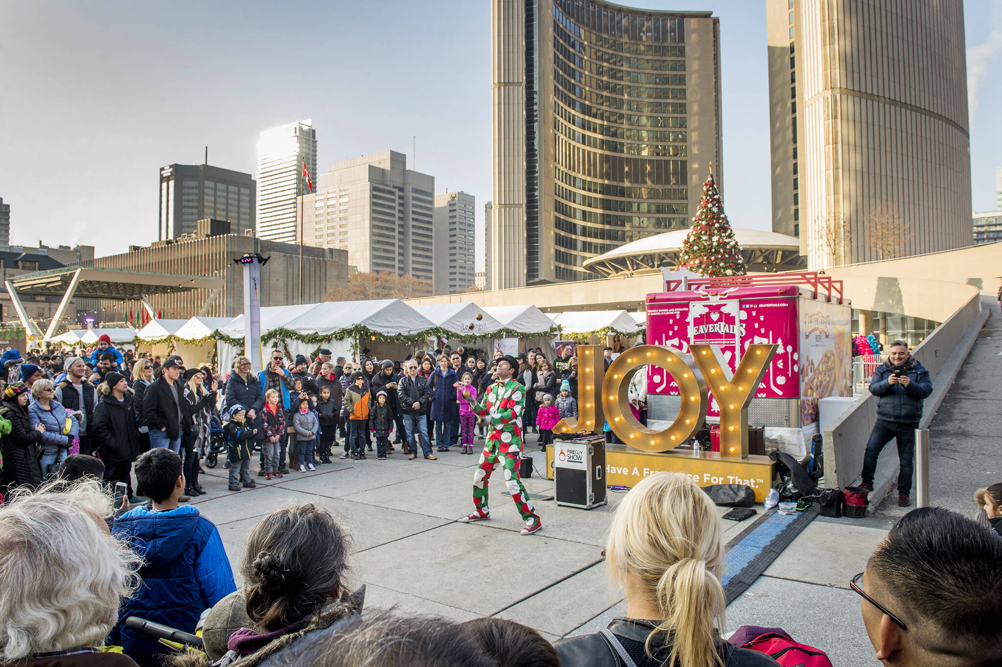 holiday fair nathan phillips square