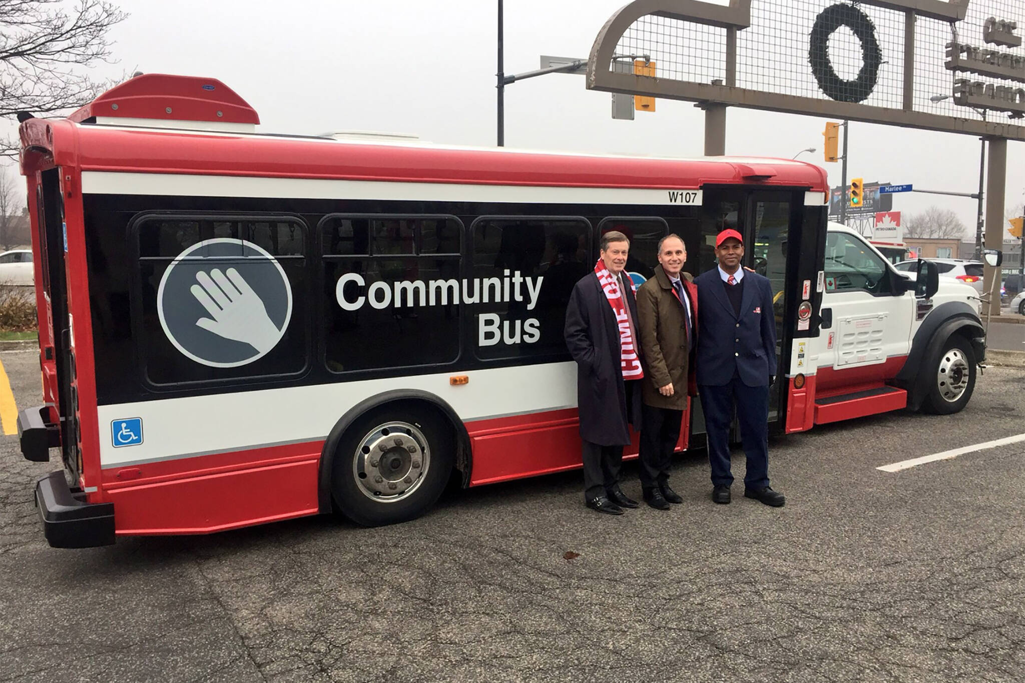 ttc community bus