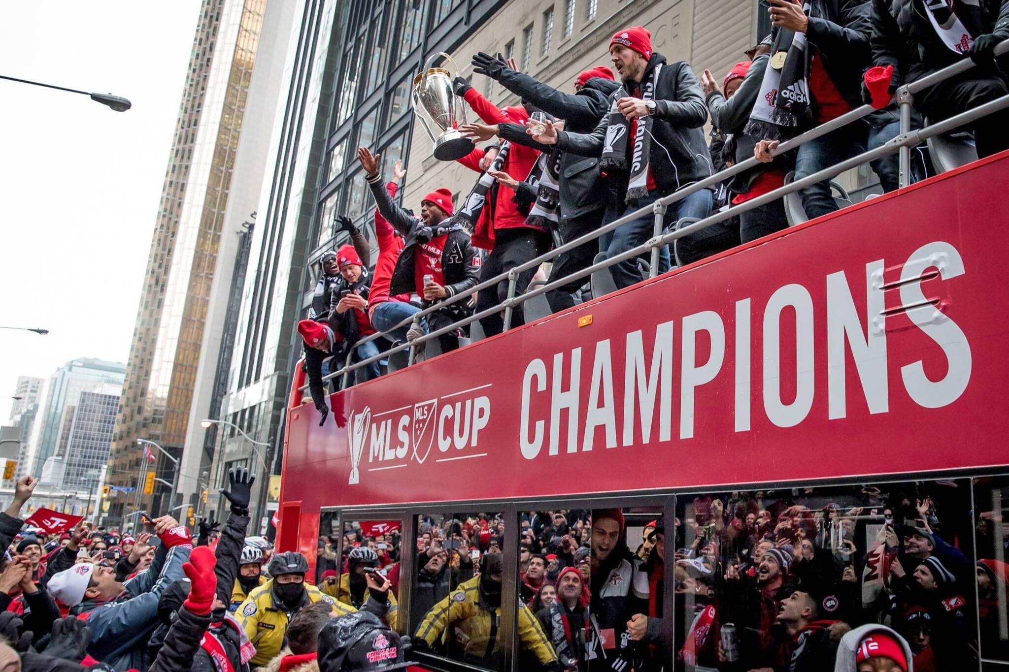 Toronto FC Championship Parade