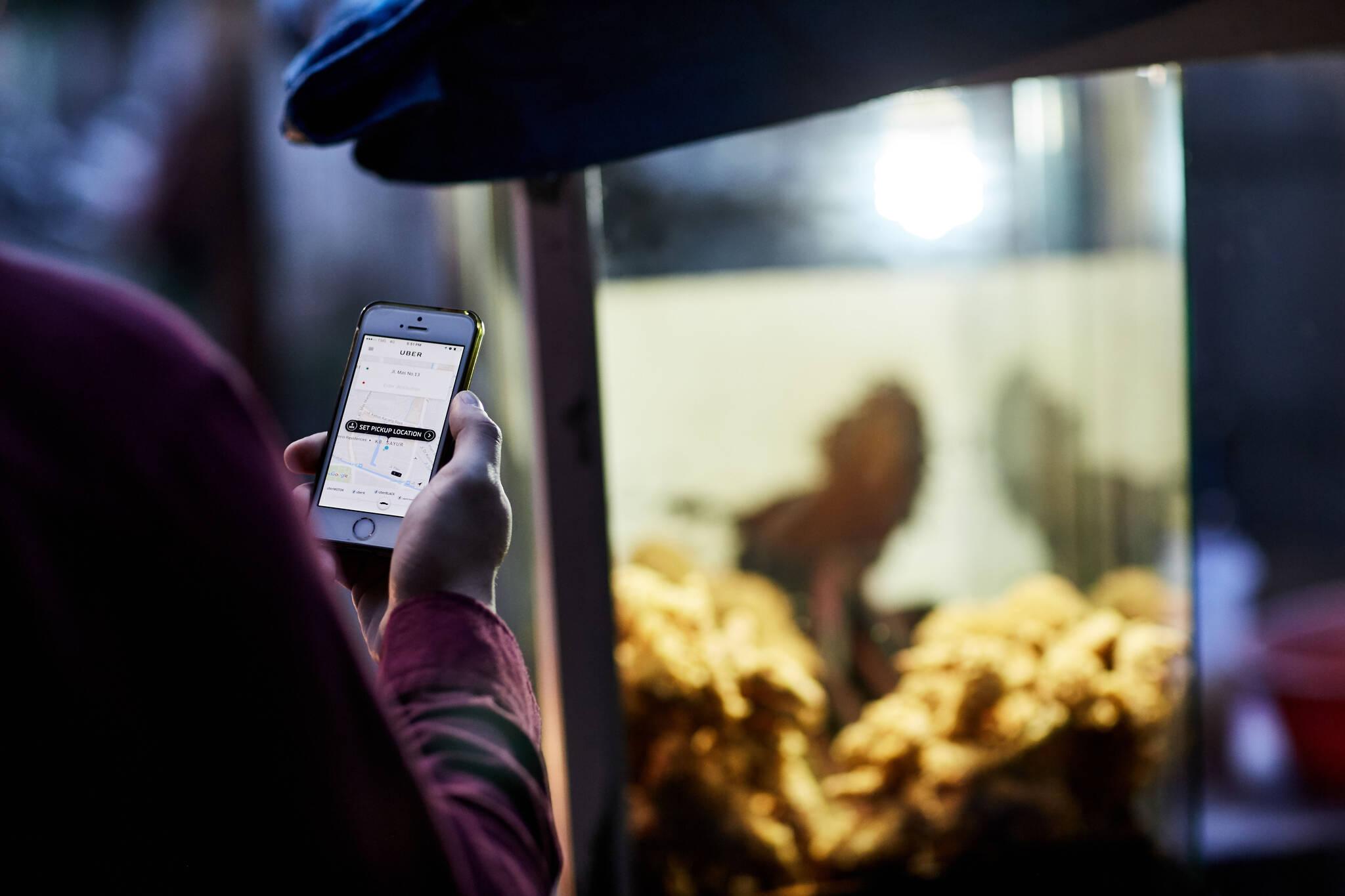 Uber surge Toronto