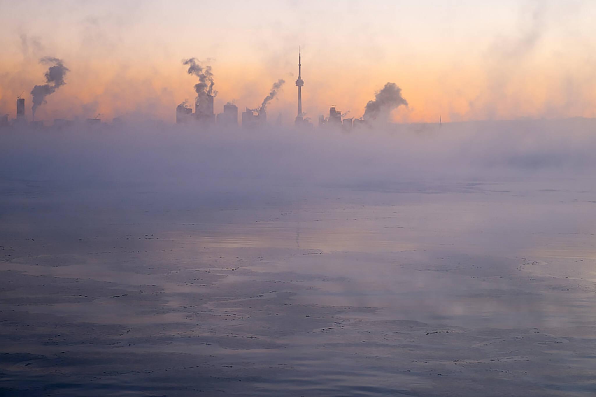Toronto winter cold