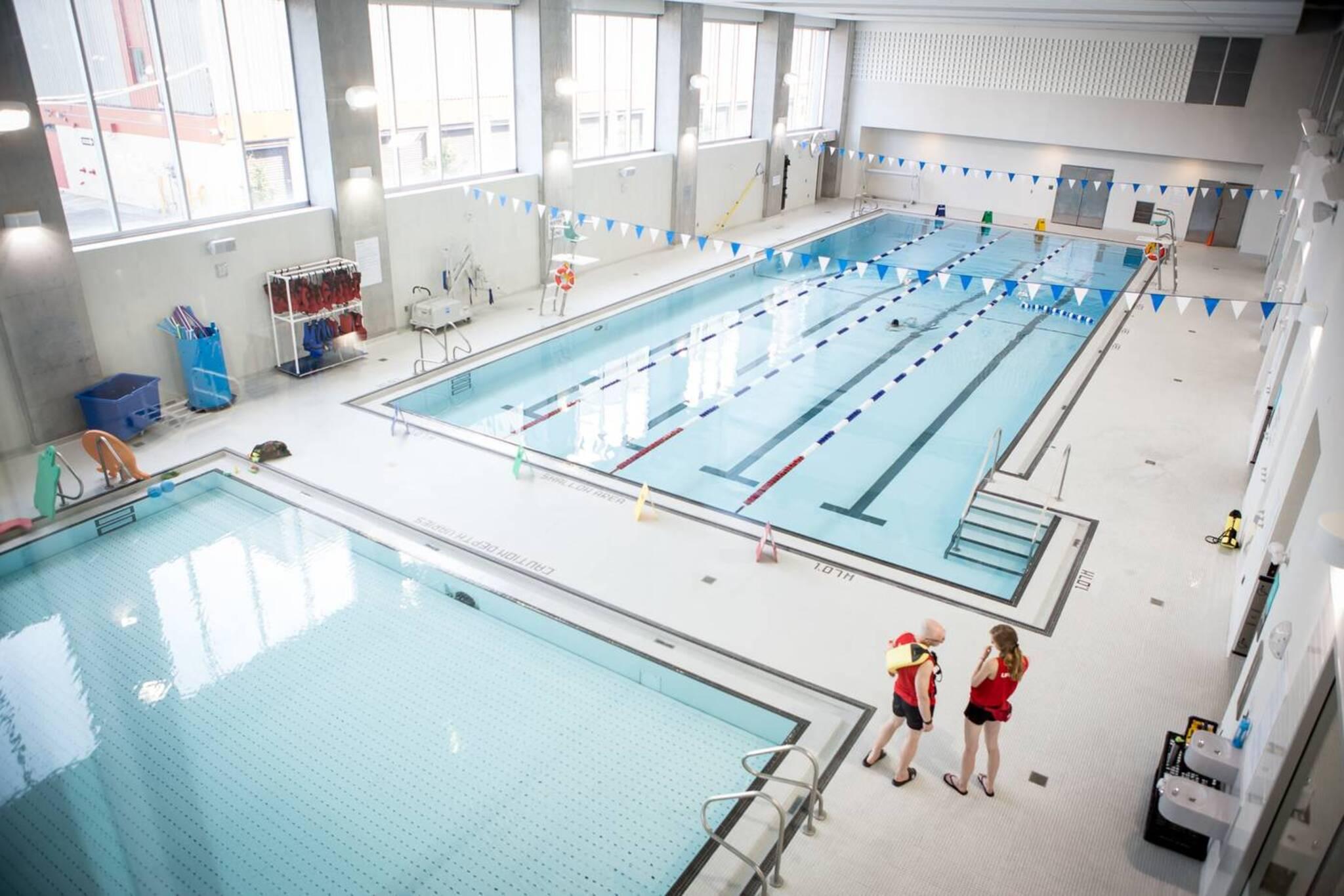 The top 15 indoor swimming pools in Toronto