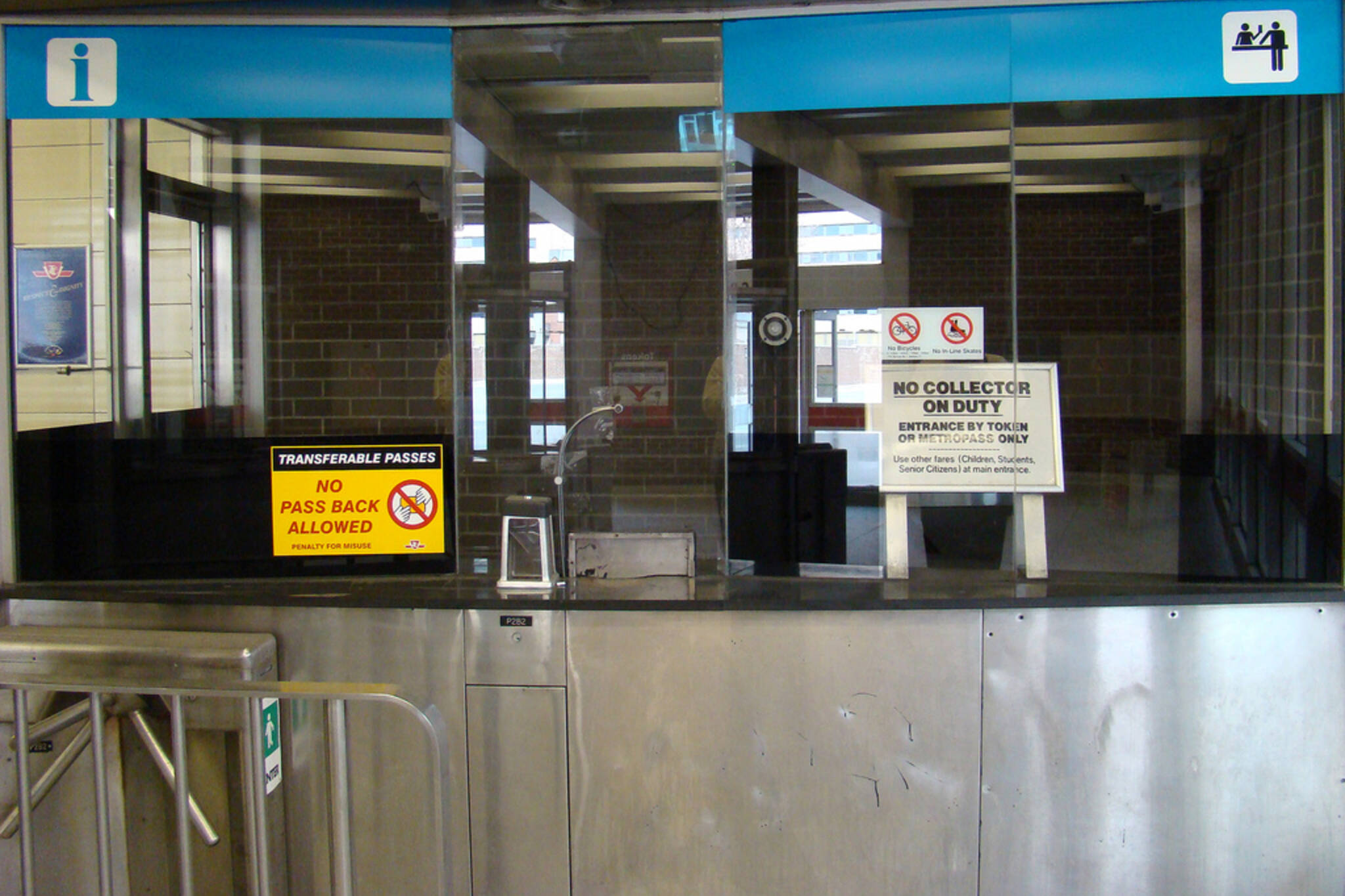 TTC collector booths