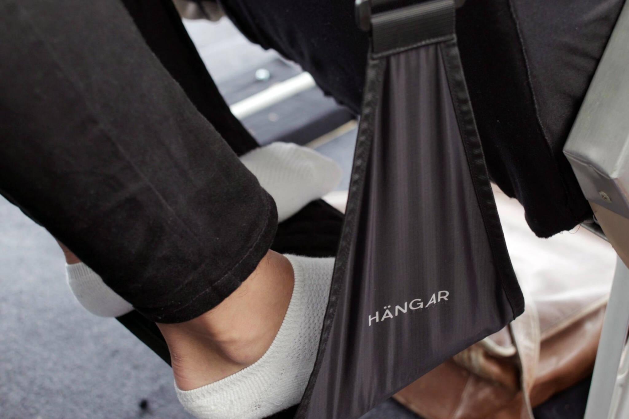 Hangar foot rest