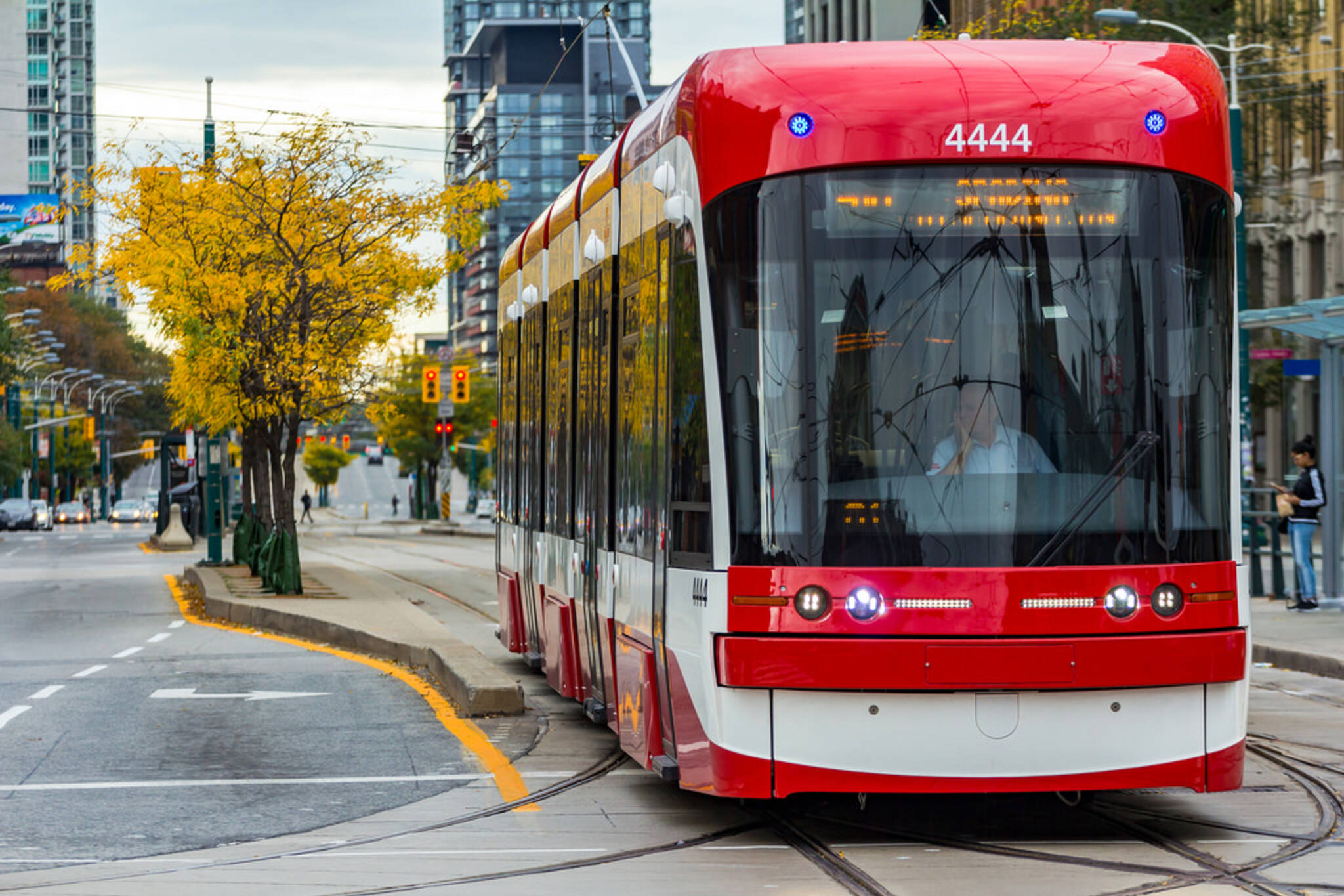 Bombardier streetcars late