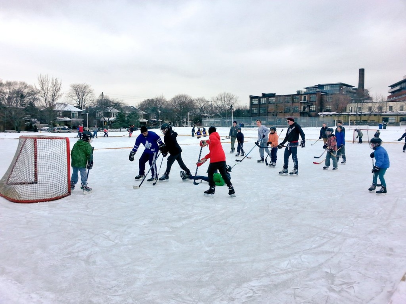 The top 5 natural ice rinks in Toronto
