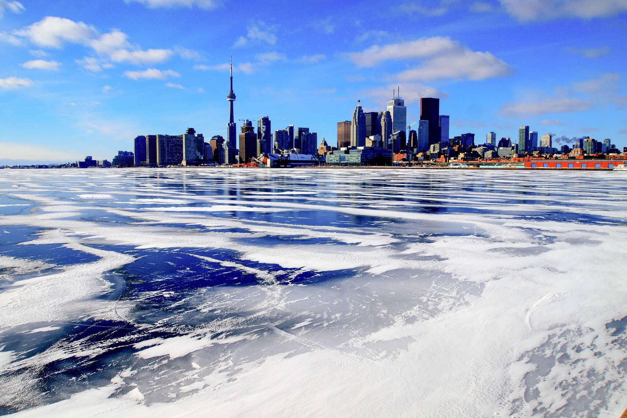 Toronto winter record