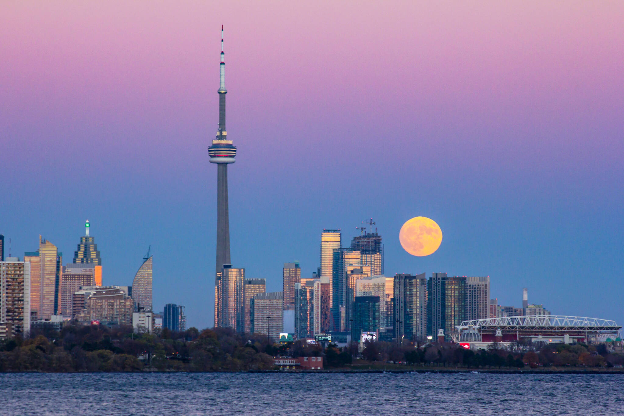 Toronto wolf moon