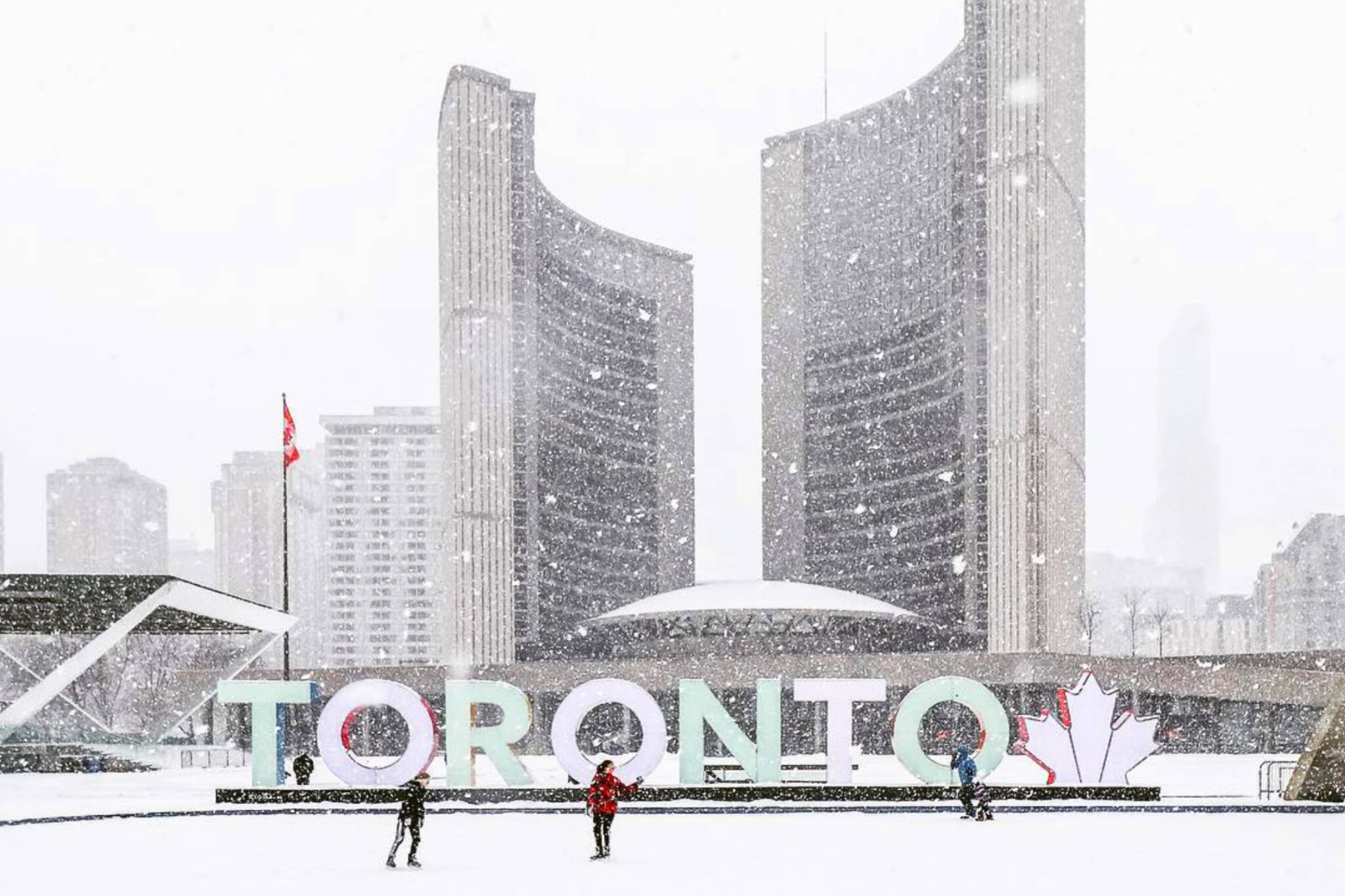 Toronto expected to have a white Christmas this year