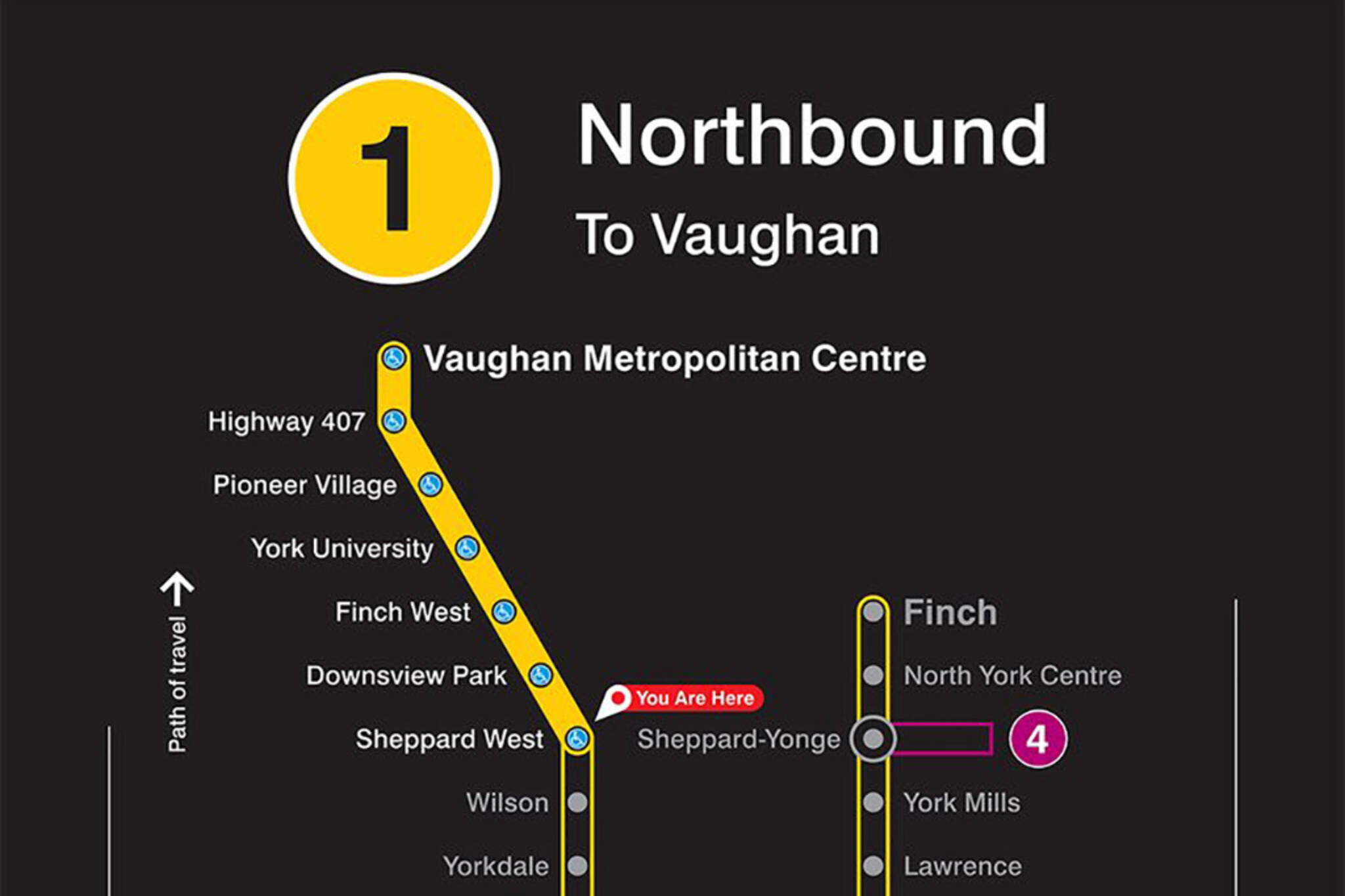 New York Subway Map Future.This Is What The New Ttc Subway Map Looks Like