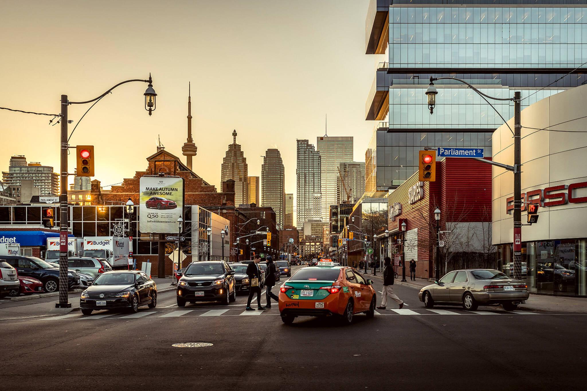 Rich people Toronto