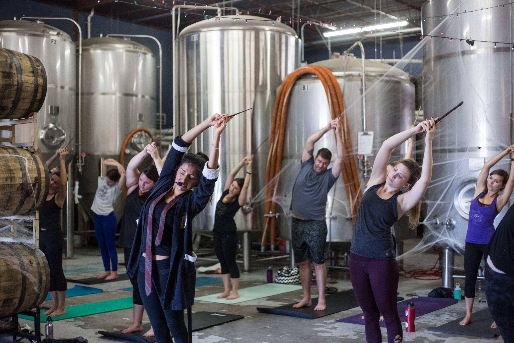harry potter yoga toronto