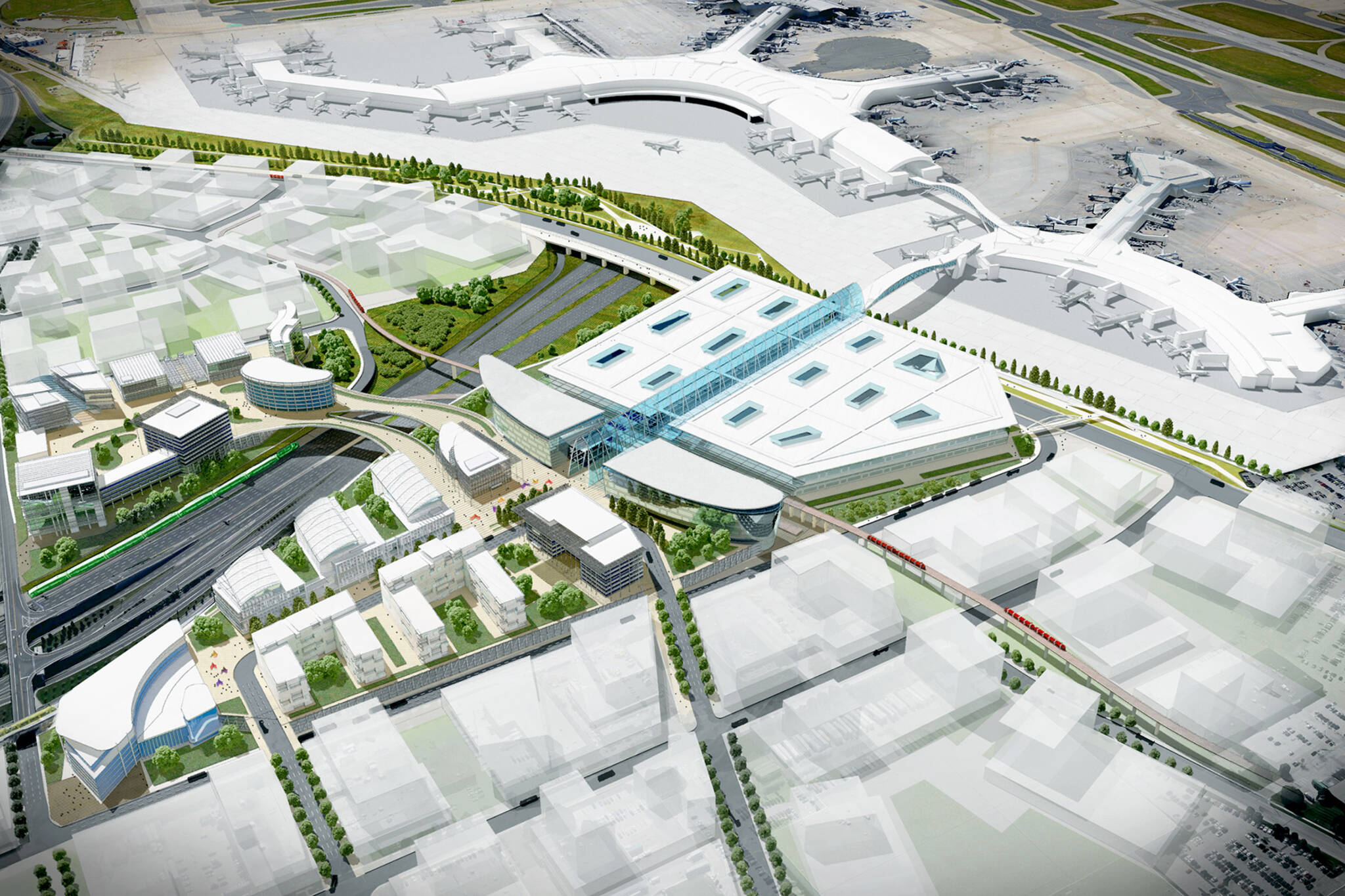 toronto airport expansion