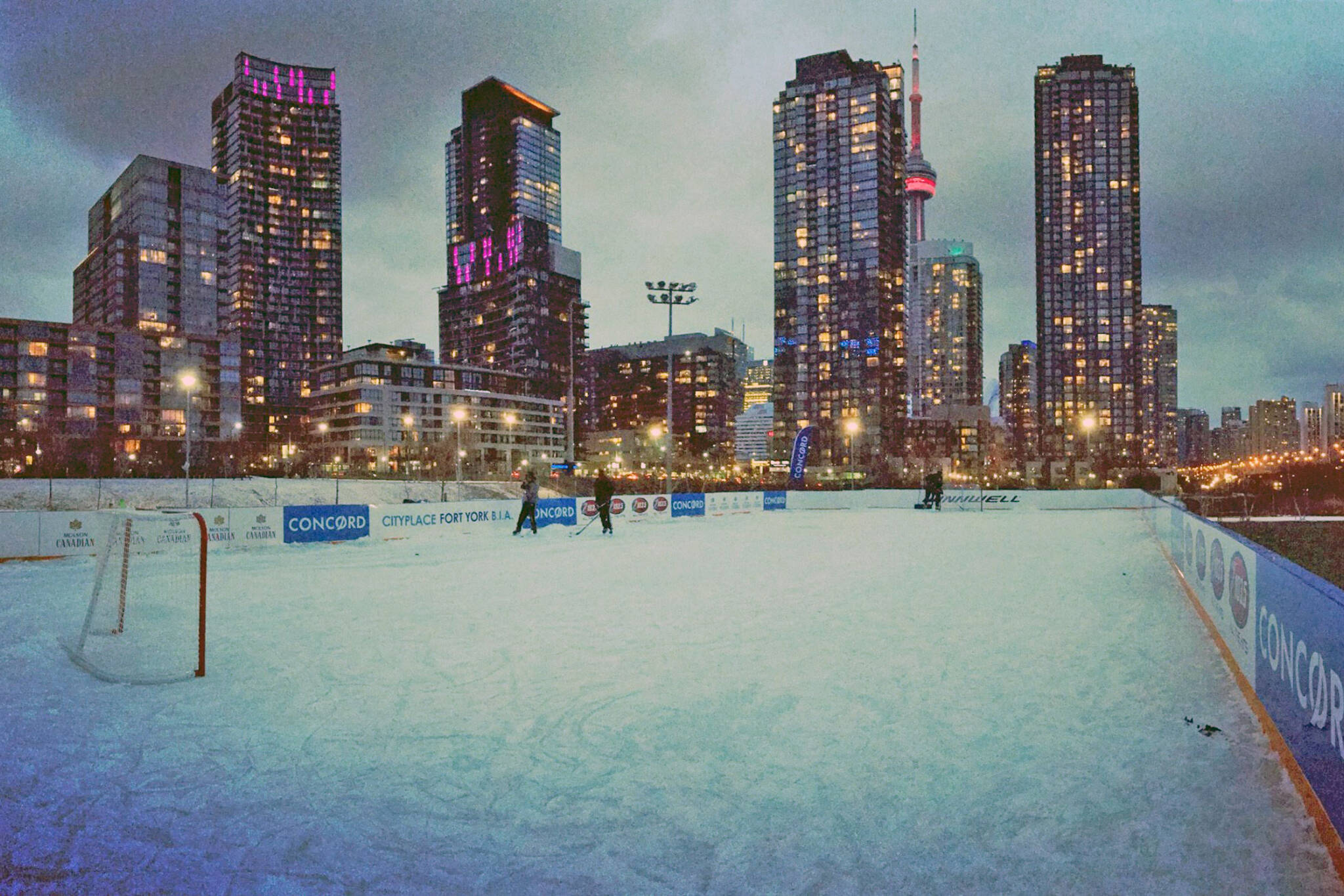 cityplace skating rink