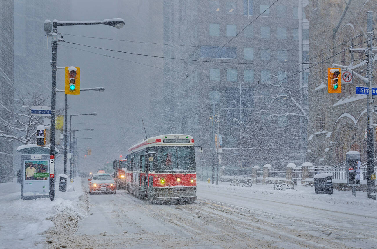 Major winter storm expected to dump 25cm of snow on Toronto