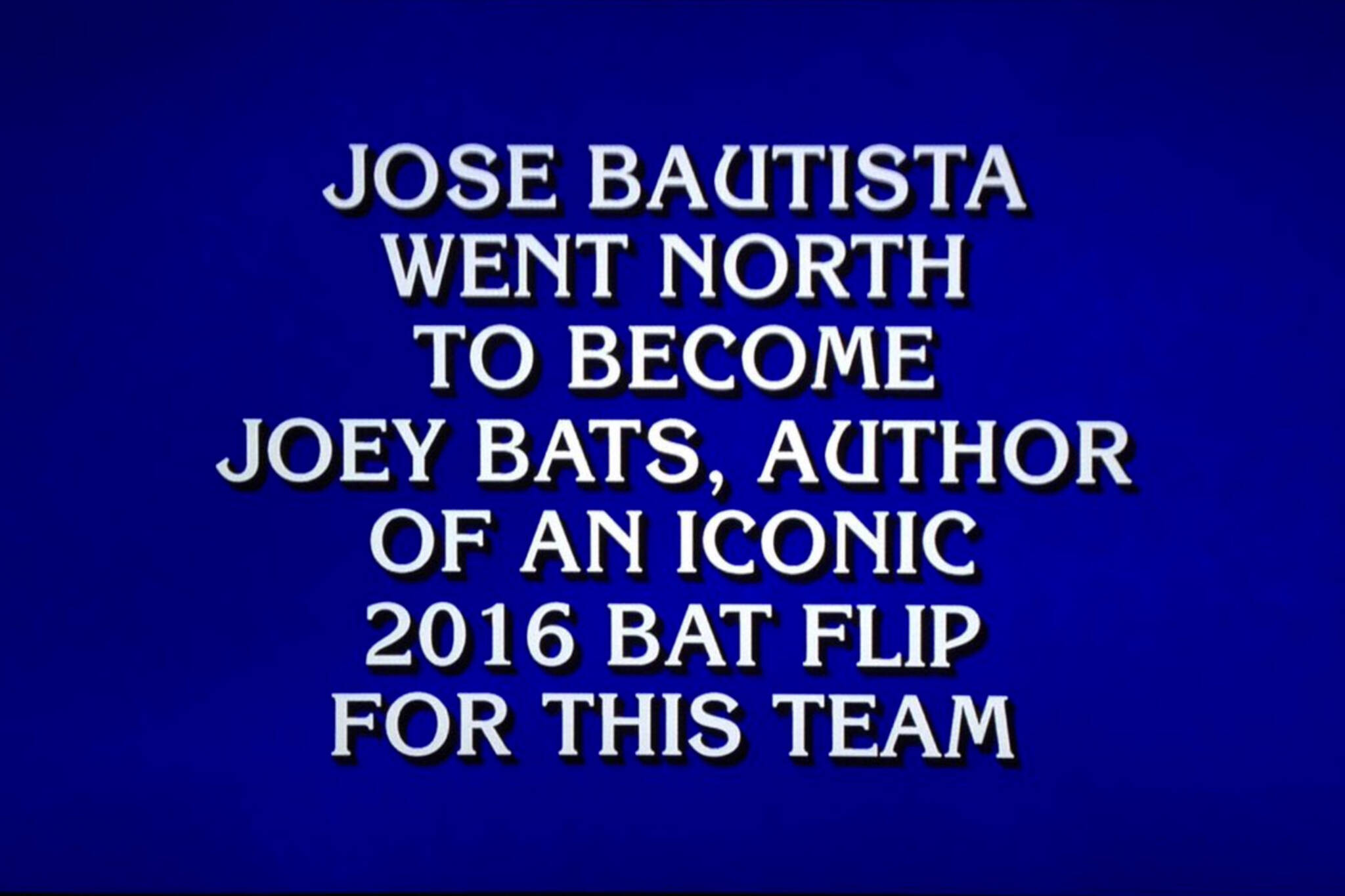 blue jays jeopardy