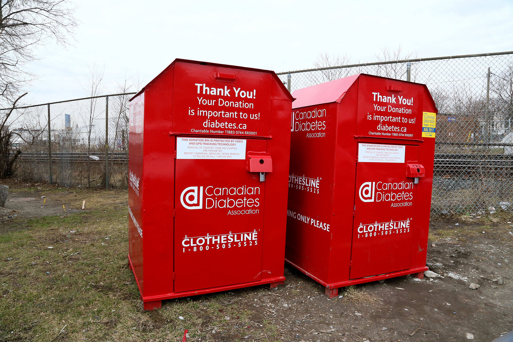 Clothing Donation Bins Toronto