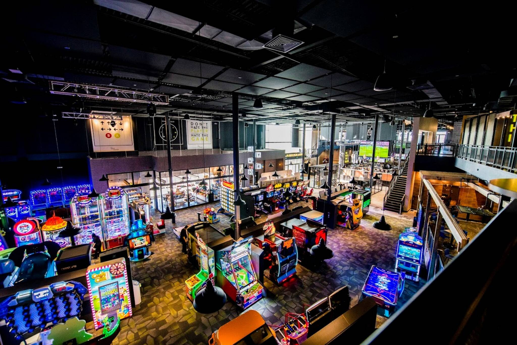 cineplex opening massive gaming and sports bar in toronto. Black Bedroom Furniture Sets. Home Design Ideas