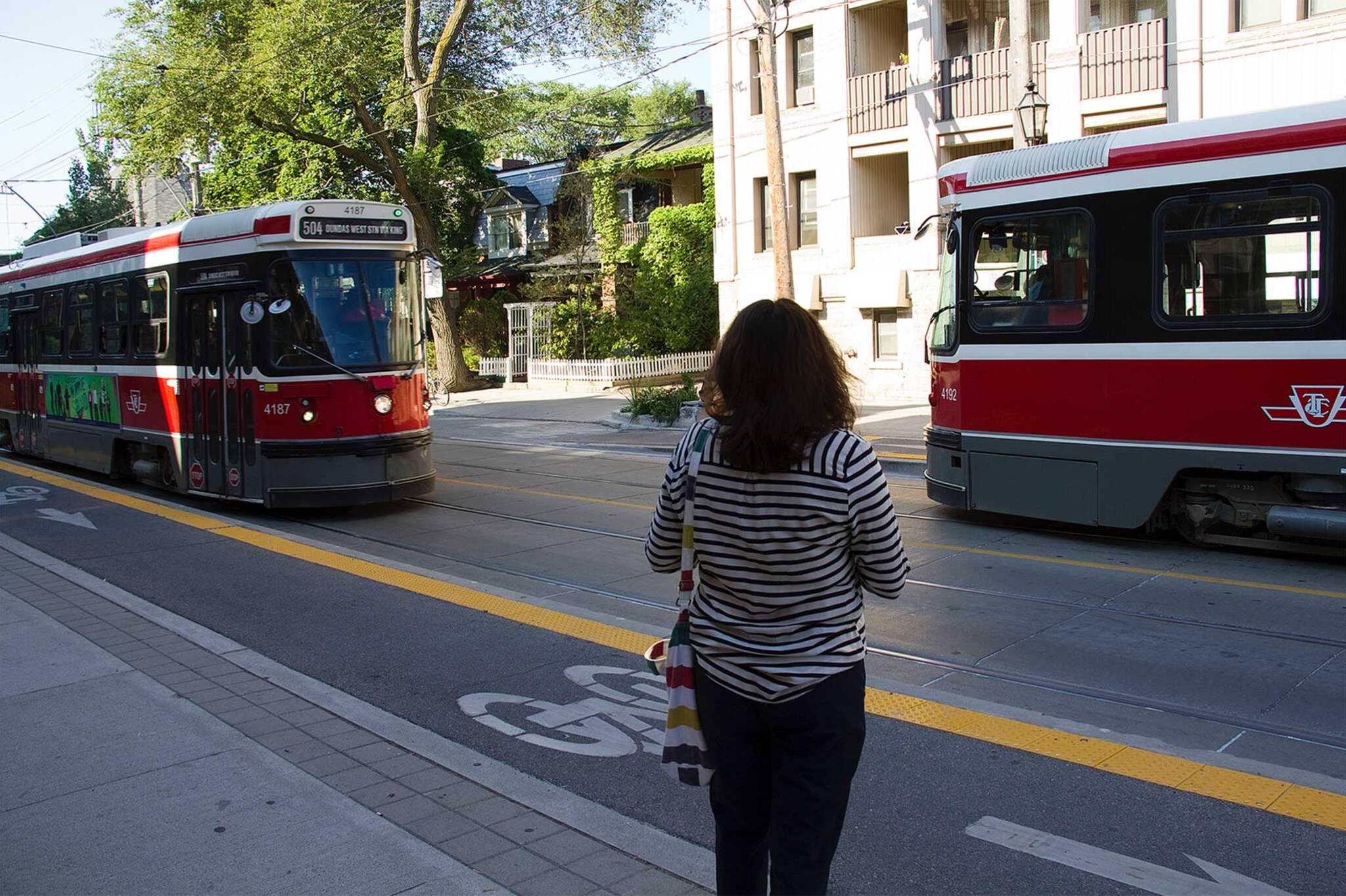 roncesvalles streetcar