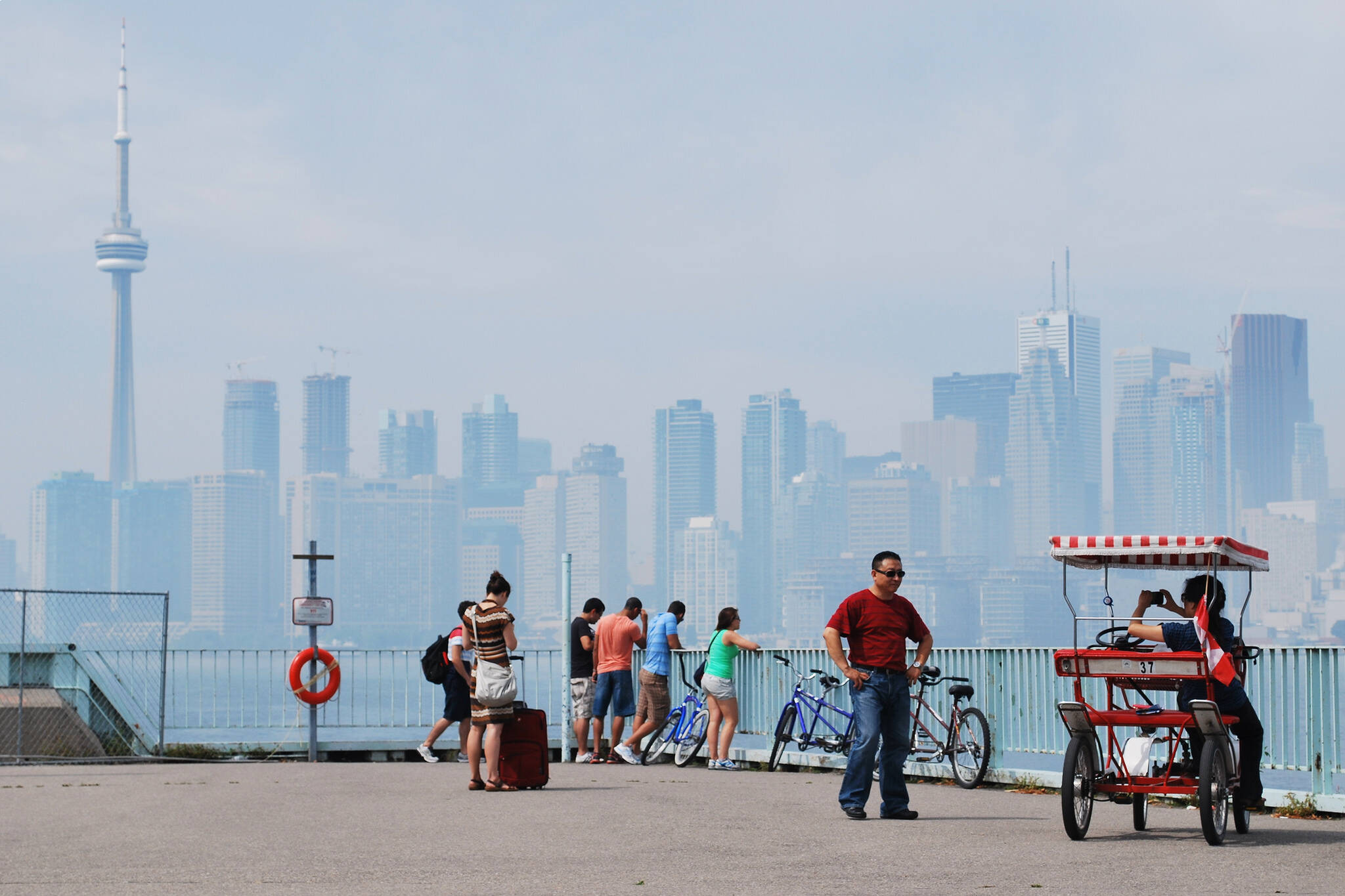 island bike toronto