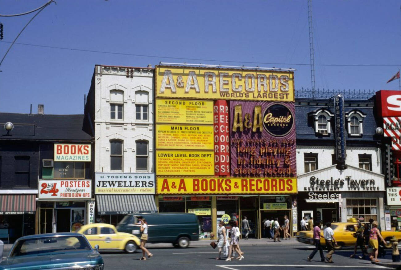 10 Lost But Not Forgotten Record Stores In Toronto