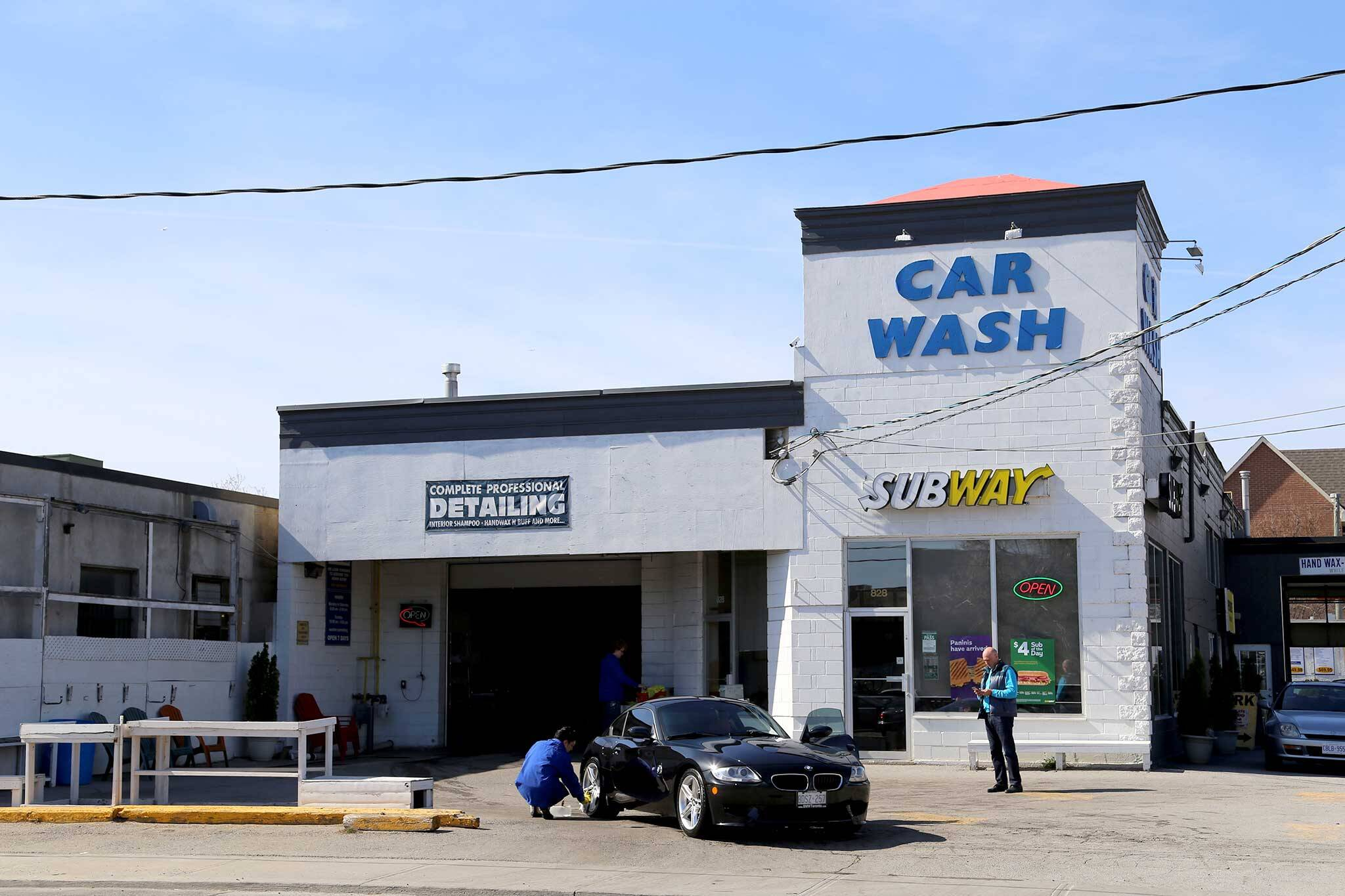 Here's A Map Of Car Wash Locations In Downtown Toronto