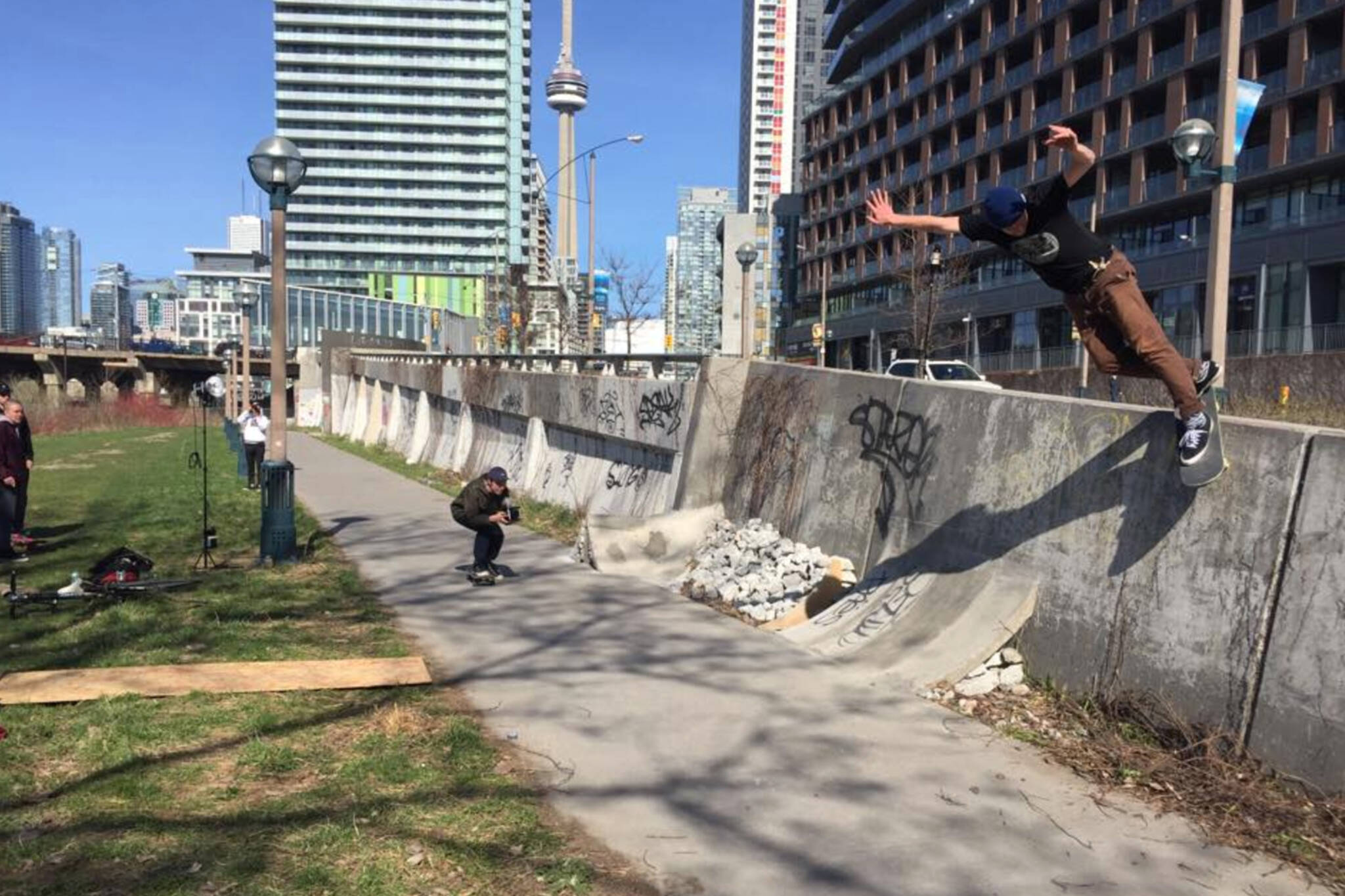 toronto skatepark demolished