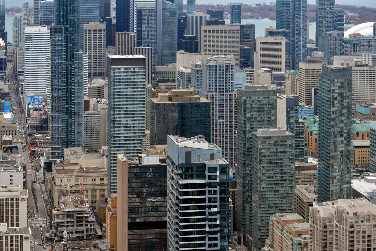 Toronto ranked city with 8th most skyscrapers in the world