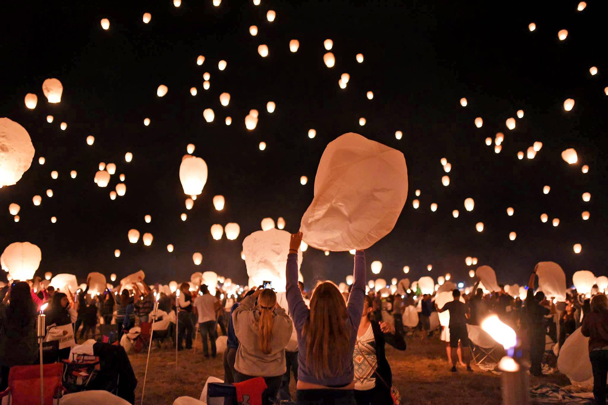 light festival toronto