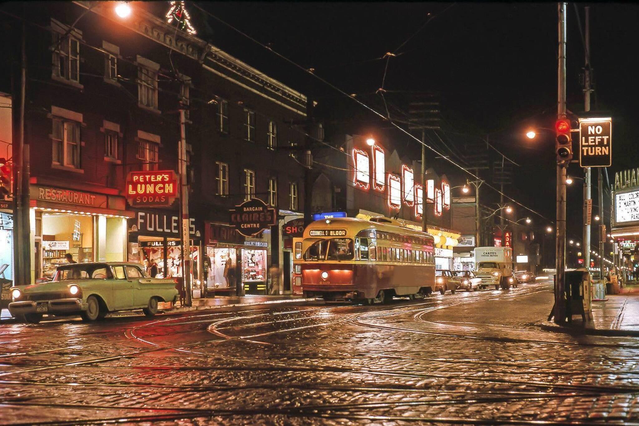 toronto night 1960s