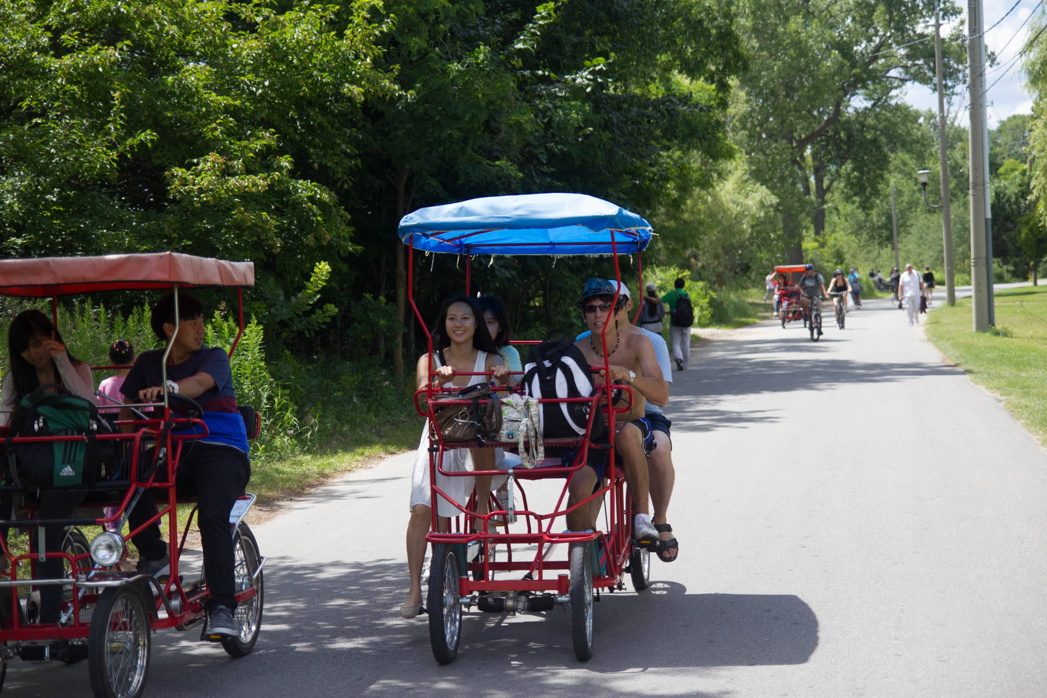 toronto island bike