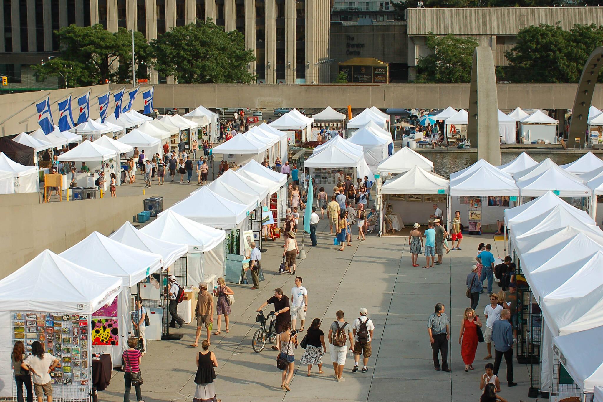 outdoor art fairs toronto 2017