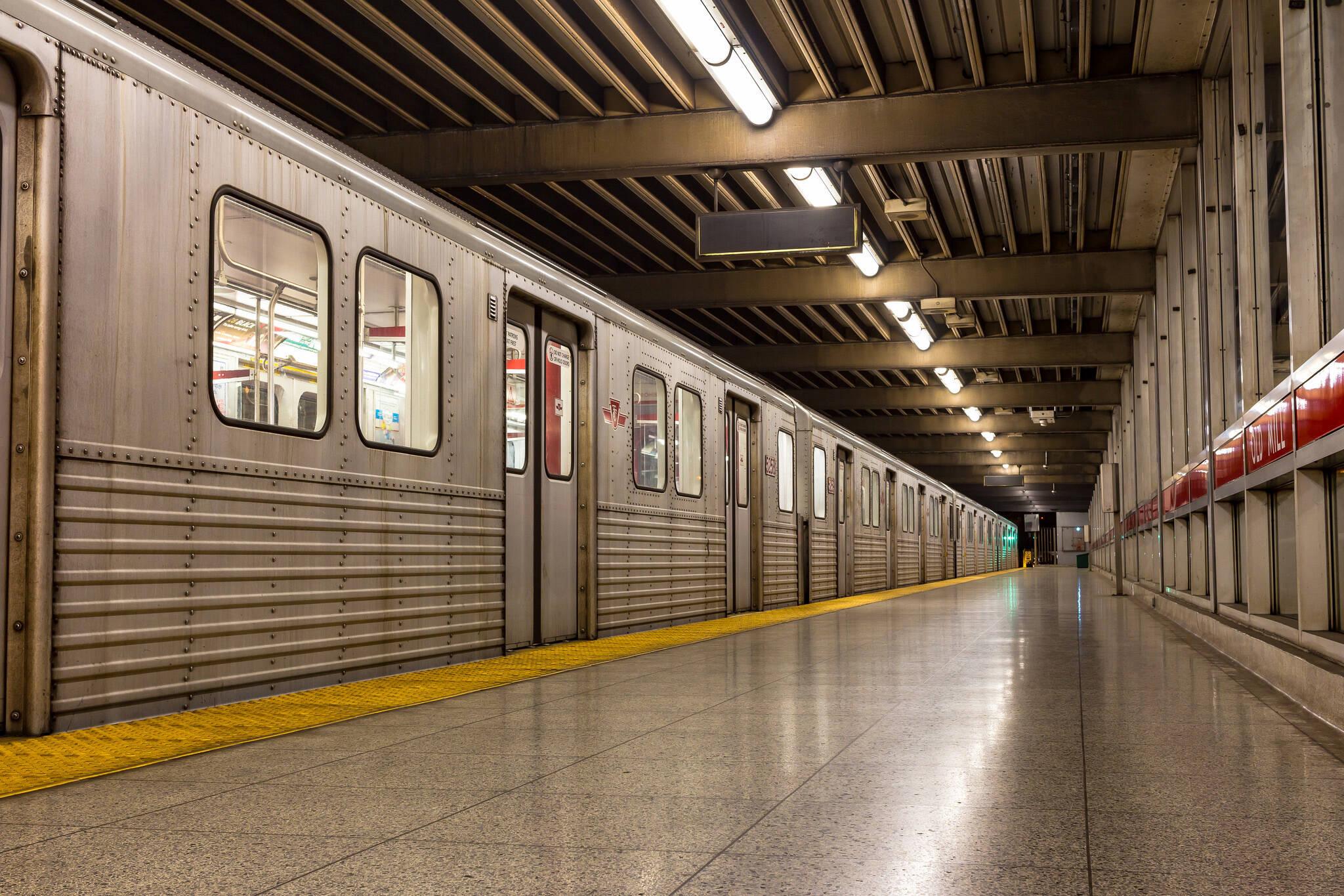 ttc hot subway cars