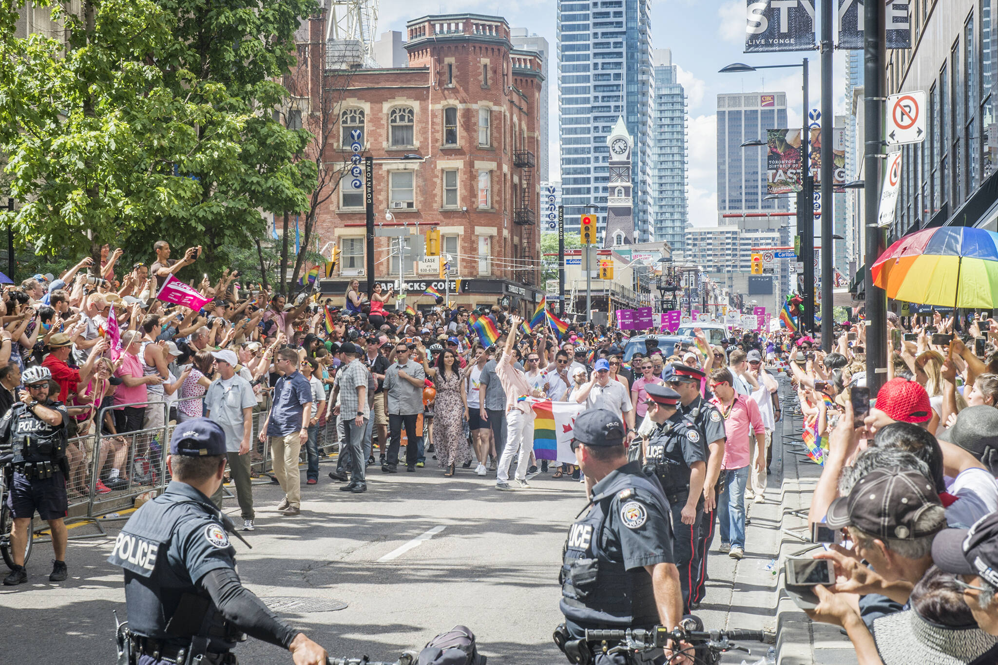 police pride toronto