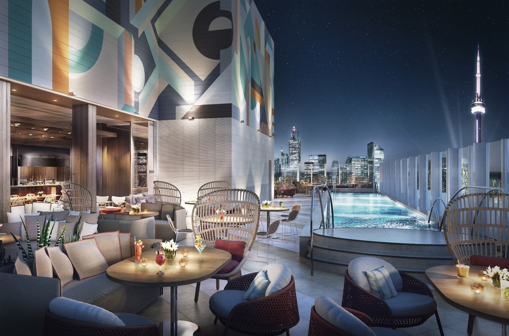 Toronto Hotel With Stunning Rooftop Restaurant And Pool Opening This