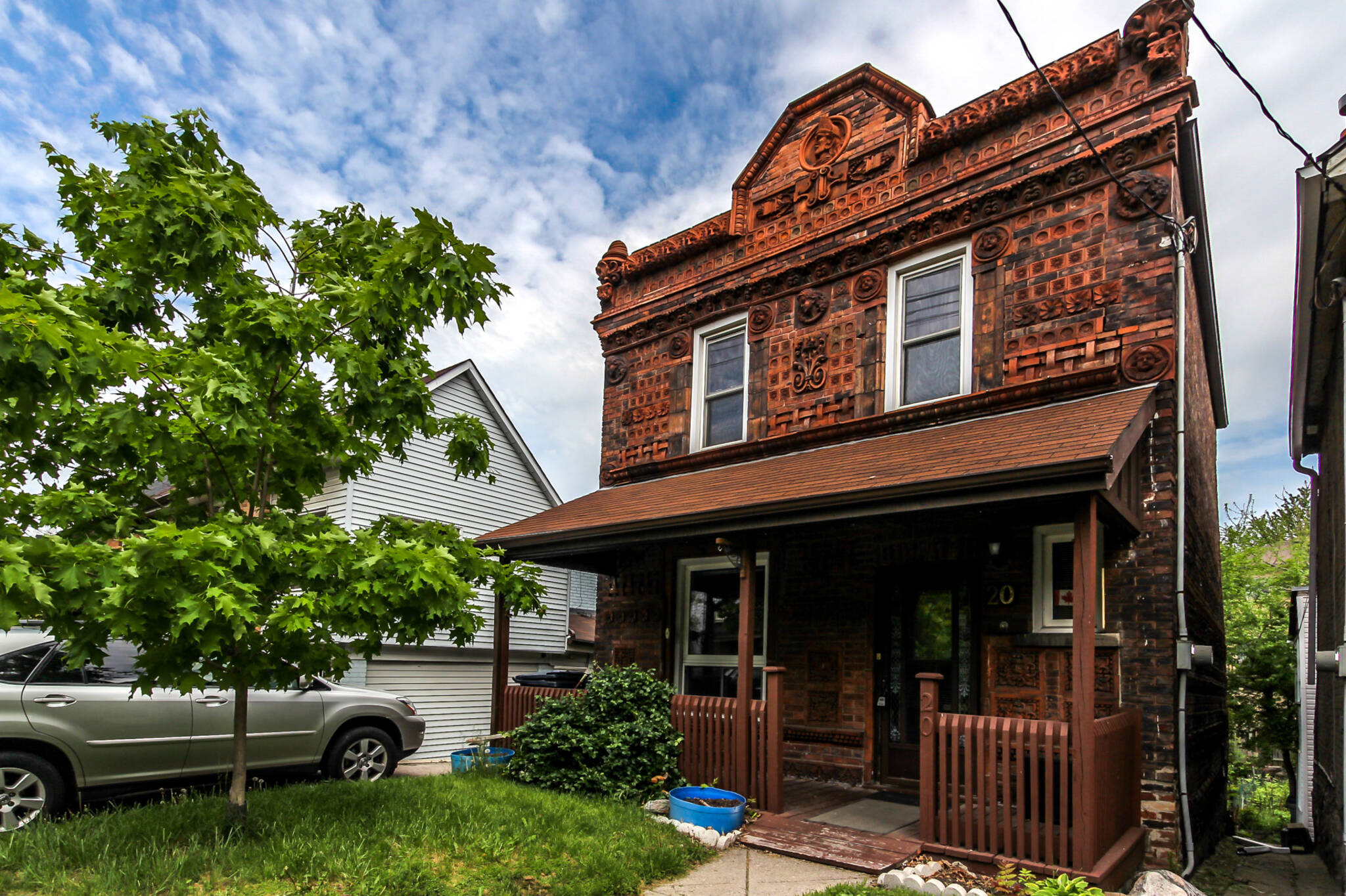 Toronto S Famous Terra Cotta House Is Now For Sale
