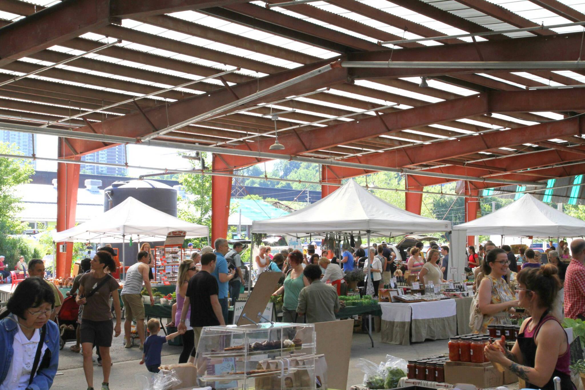 outdoor markets toronto