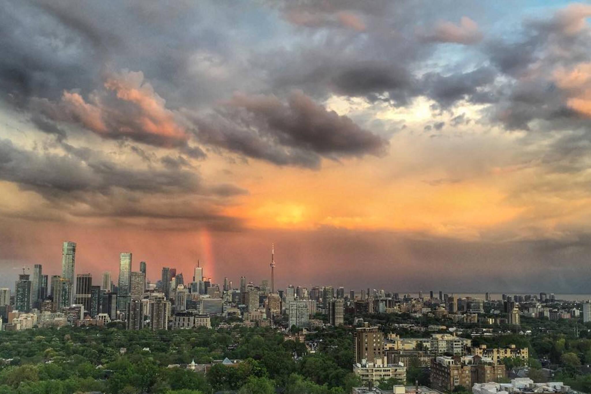 sunset photo toronto