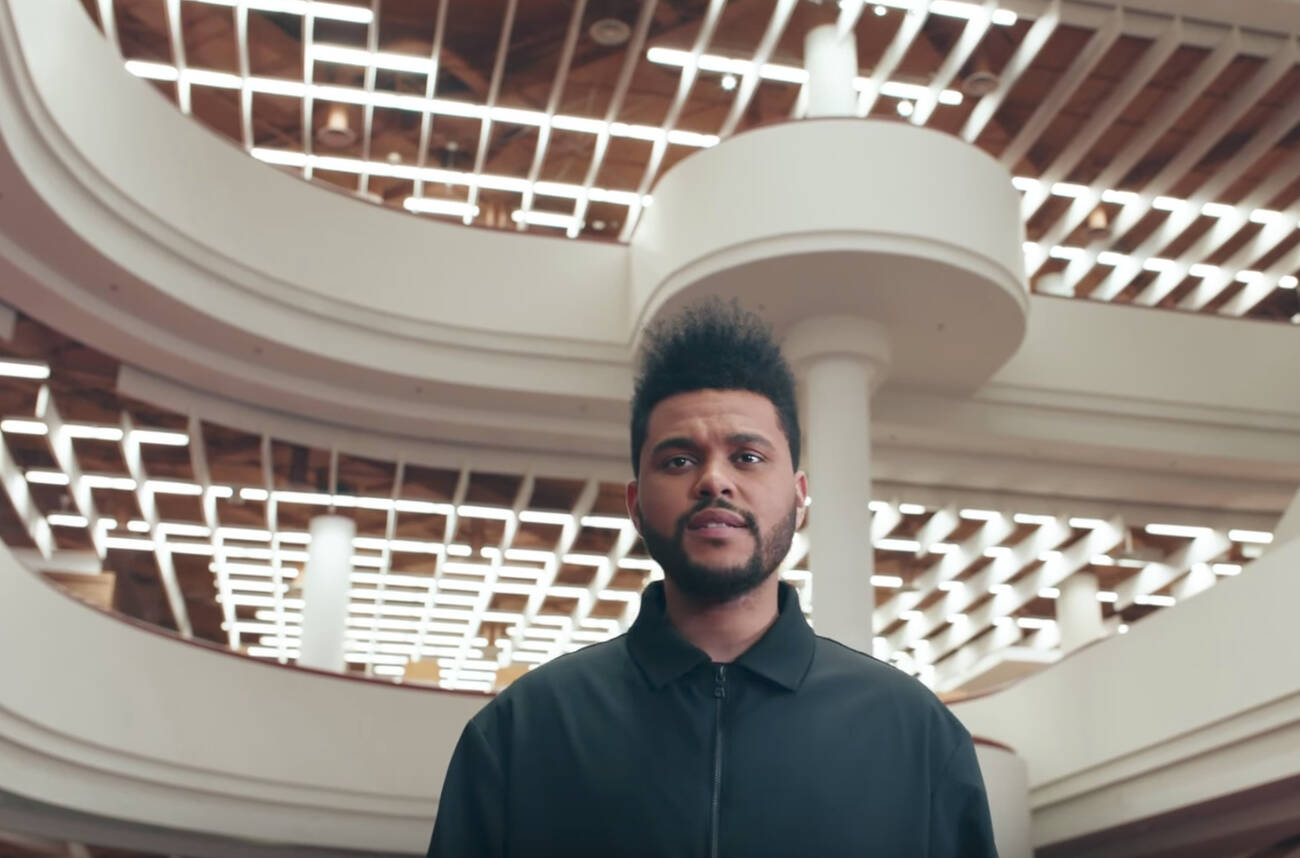 The Weeknd's newest video stars the Toronto Reference Library